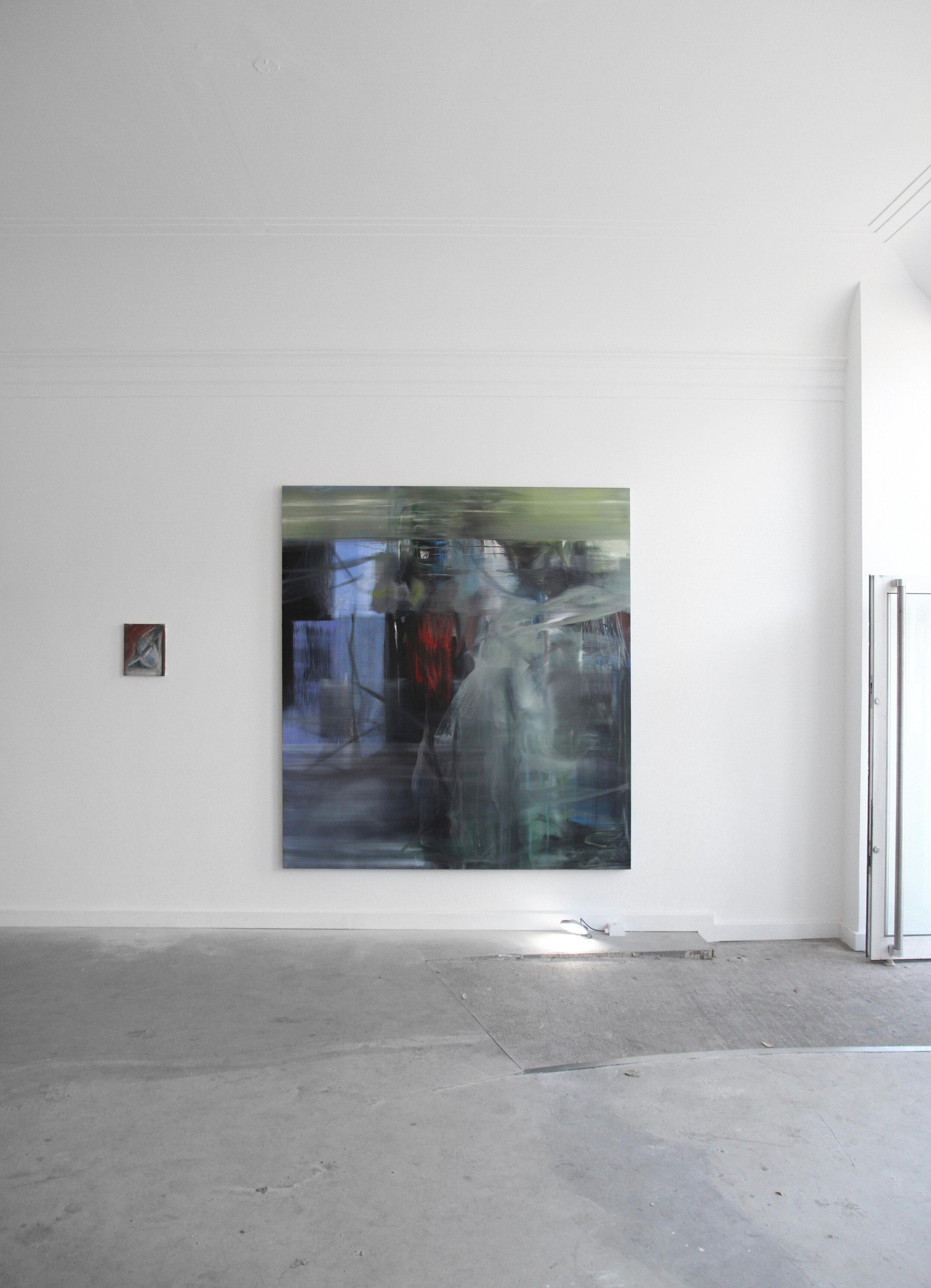 S. Derviz, Dancers III, oil on canvas, 220 x 200cm, 2018 (1.1 Vardaxoglou).jpg