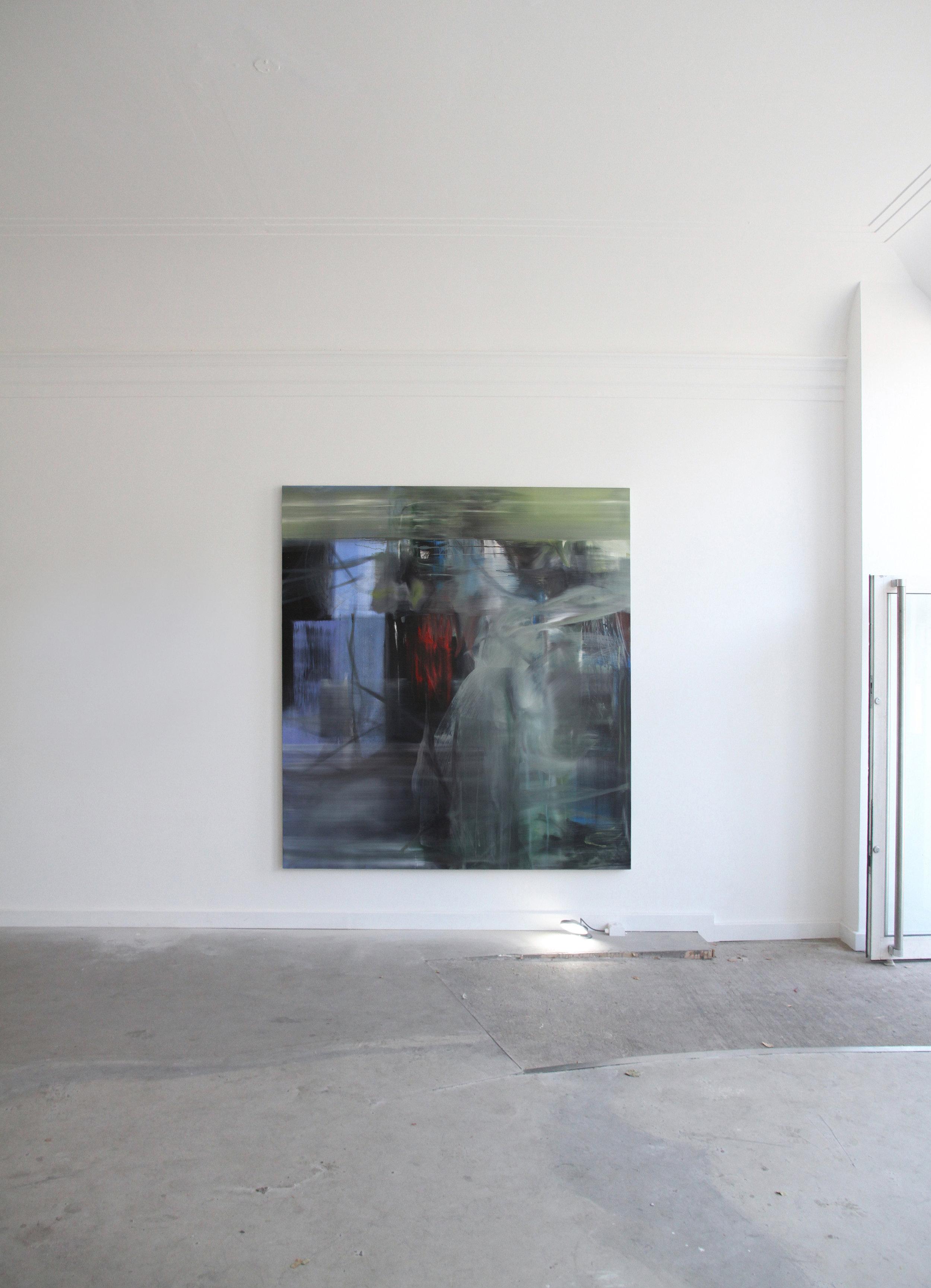 S. Derviz, Dancers III, oil on canvas, 220 x 200cm, 2018 (1.2 Vardaxoglou).jpg