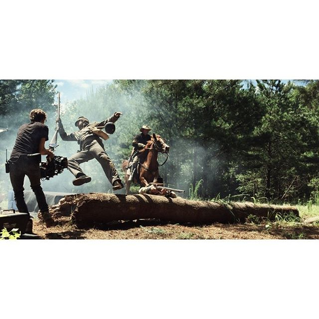 Soldier.  Photo by @themagicswaggin  #filmmaking #whitestonestoryline #stunts #stuntman #civilwar #cinematography #directorofphotography