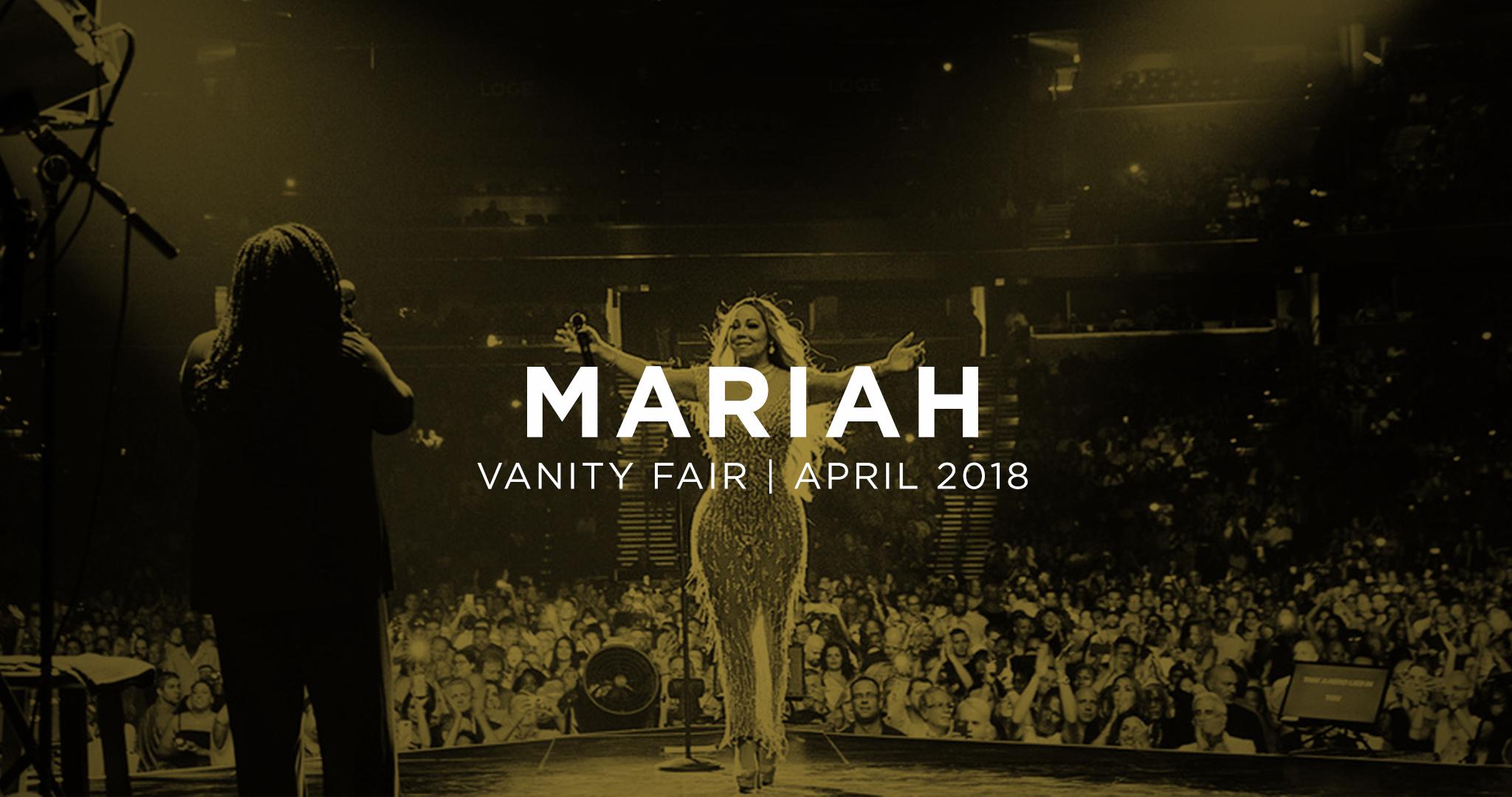 Mariah Carey. April 11, 2018