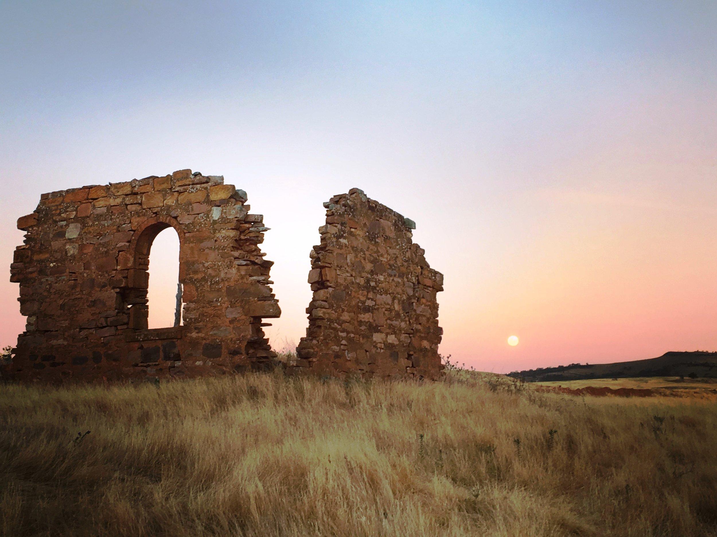Ruins and full moon.JPG