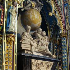 Sir Isaac Newton's tomb