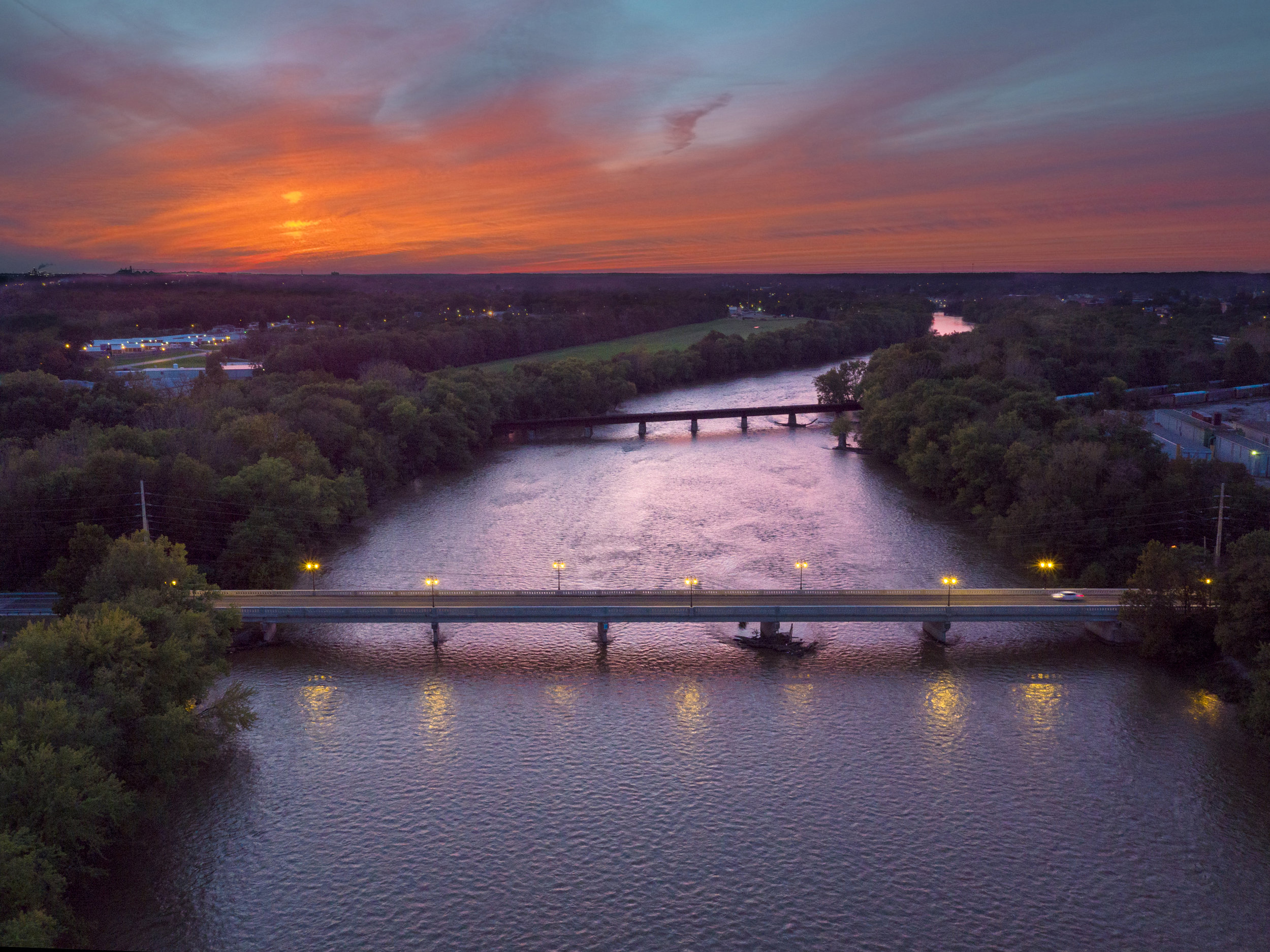 18th Street Bridge // Cass County and City of Logansport