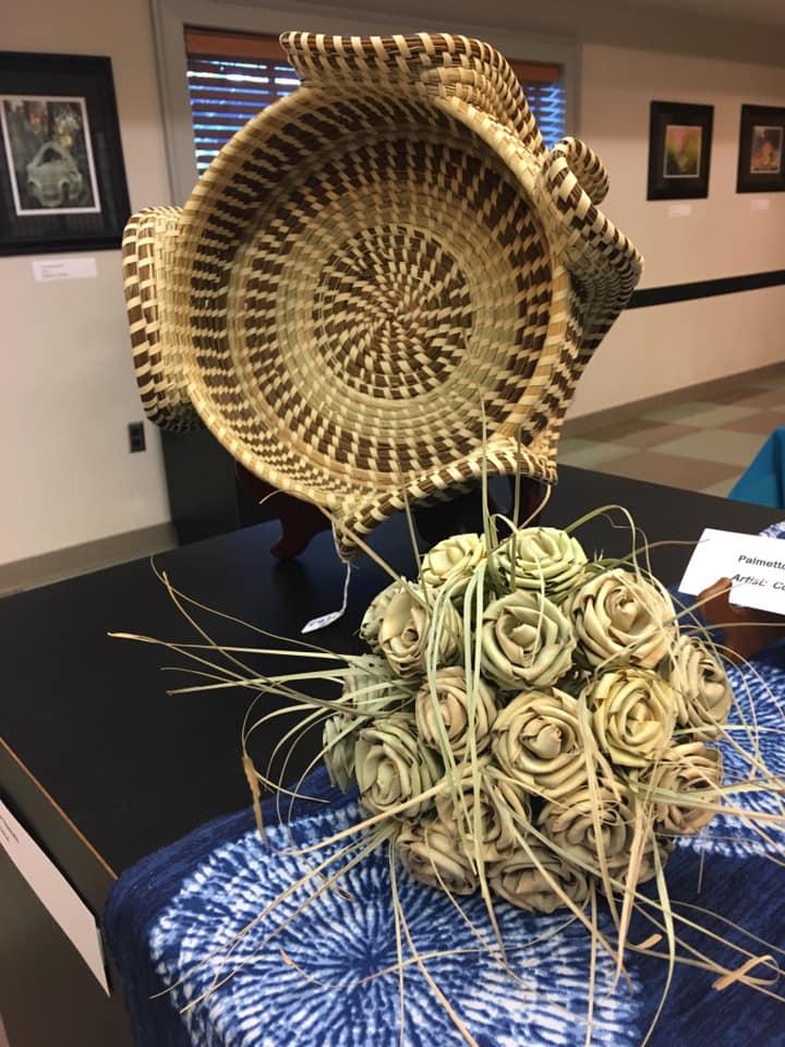 Gullah Geechee sweetgrass sewing