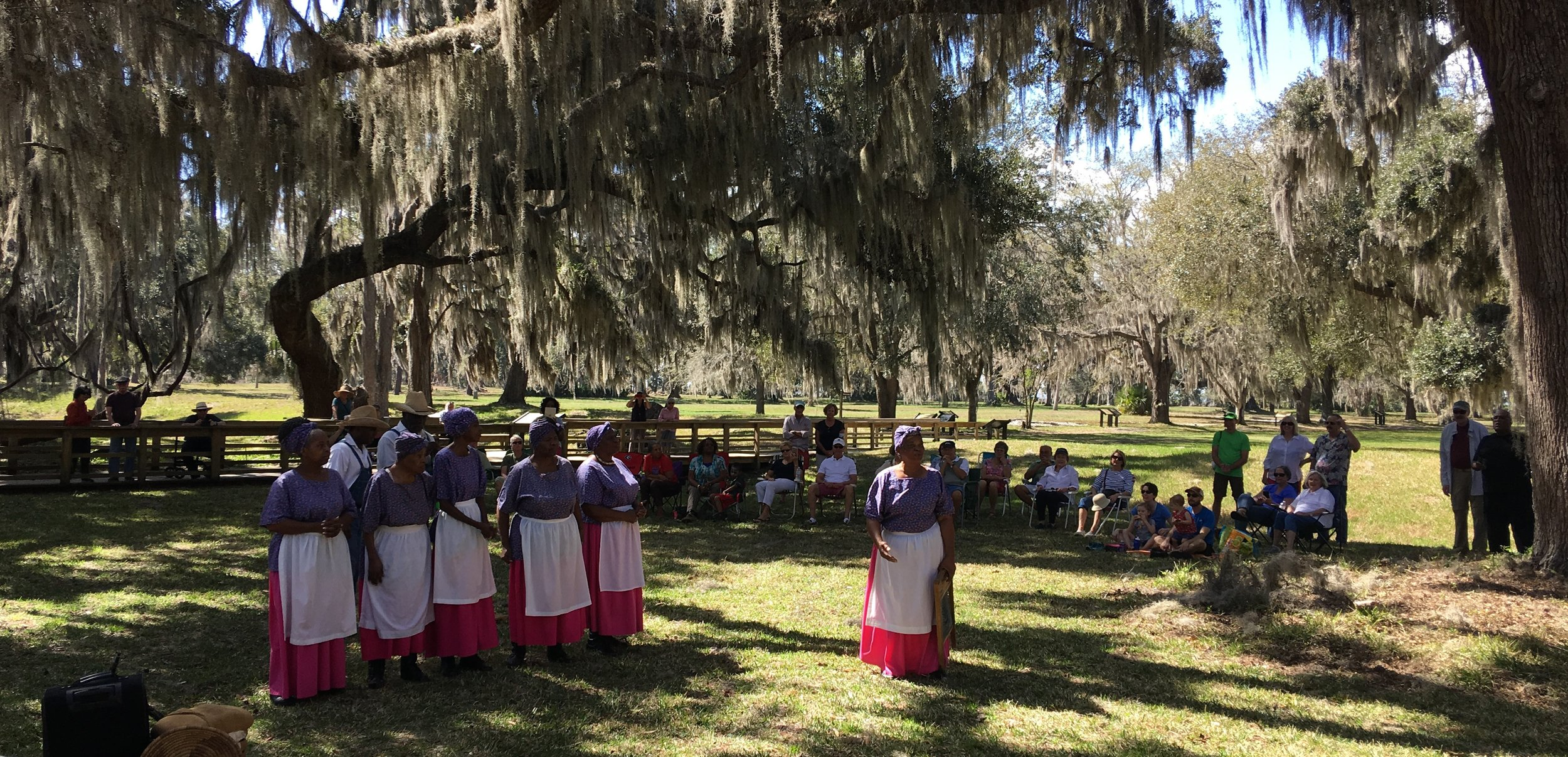 Geechee Gullah Ringshouters from McIntosh County, GA