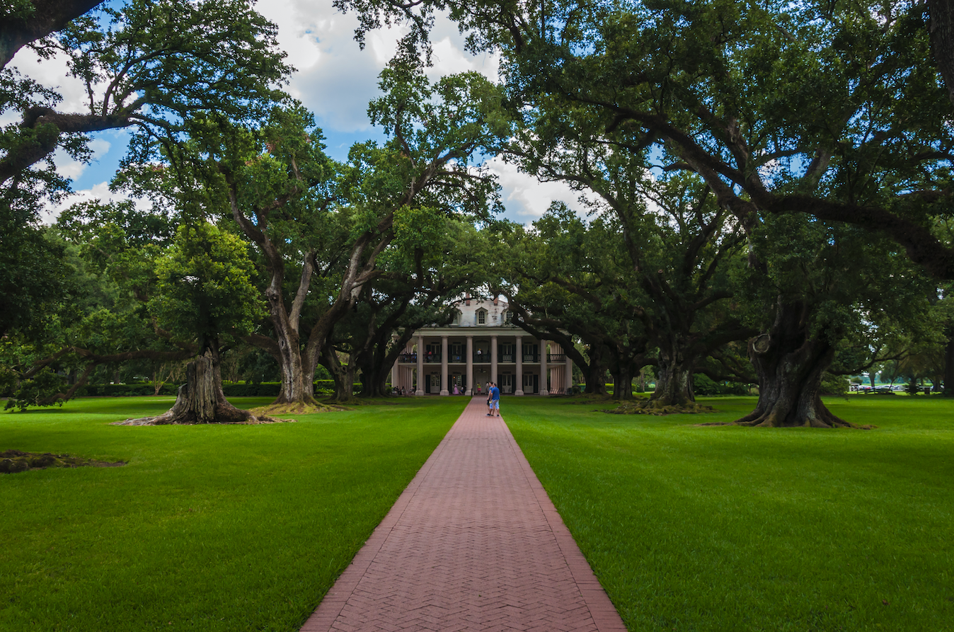 Oak Alley Plantation - personal photo from Dr. Matthew Cook and RESET funded project in 2014