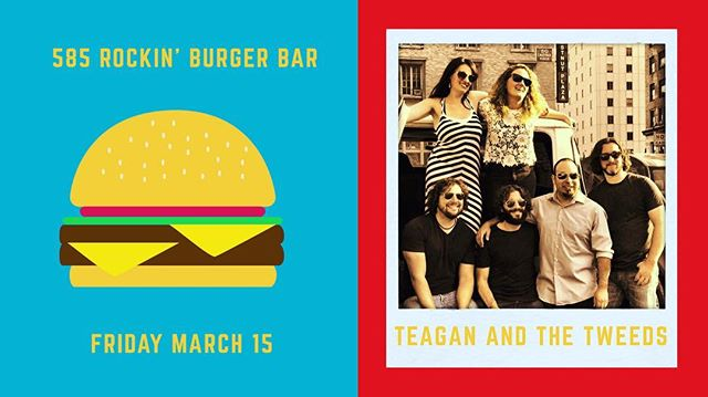 Come eat a burg and listen to some live music. It is sure to be delicious. . . . . . . @585rbb @teaganwardmusic #rochesterny #rochesterlivemusic #roc #teaganandthetweeds