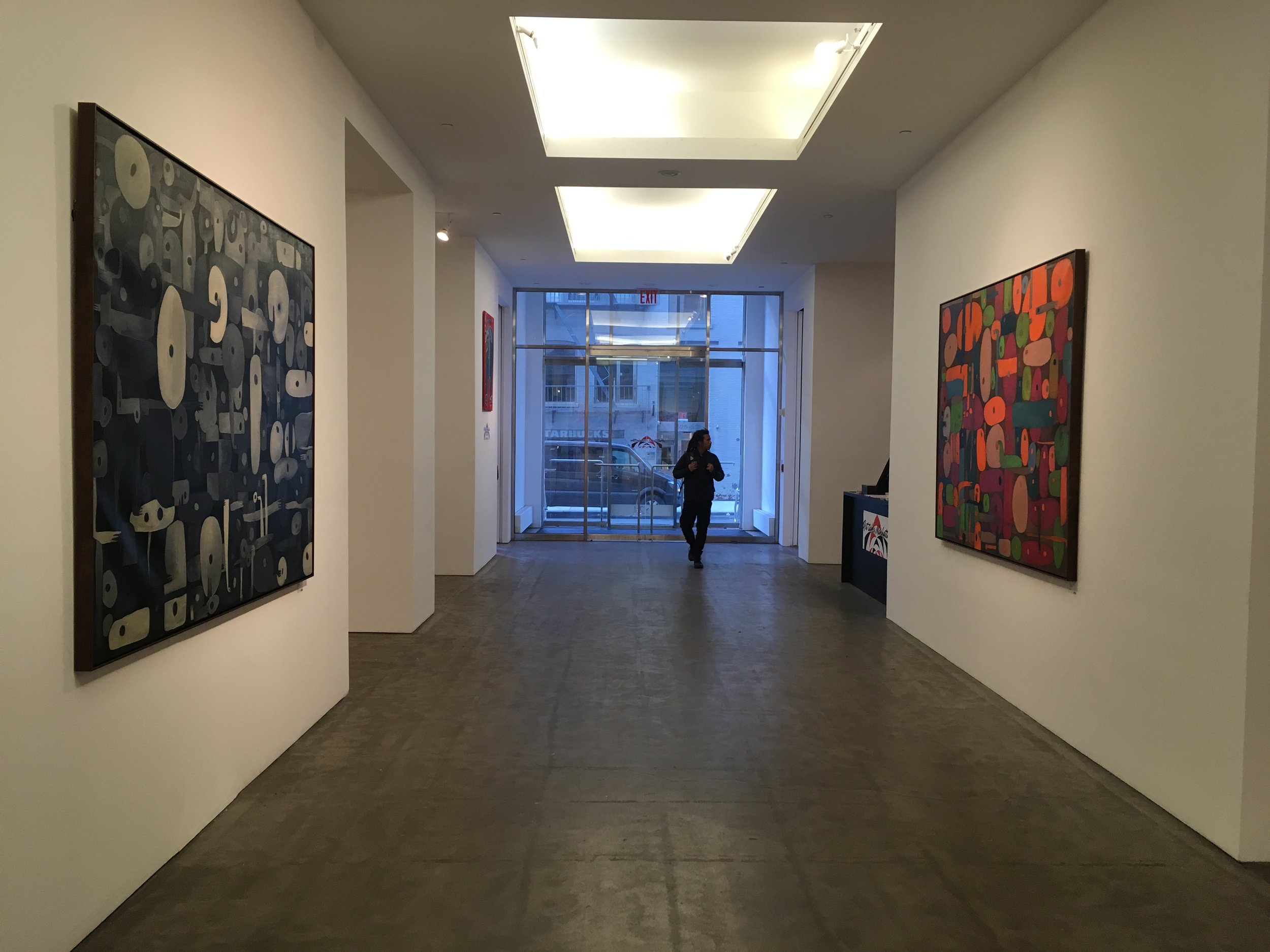 March, 2018 (ATM at the Former Robert Miller Gallery) New York
