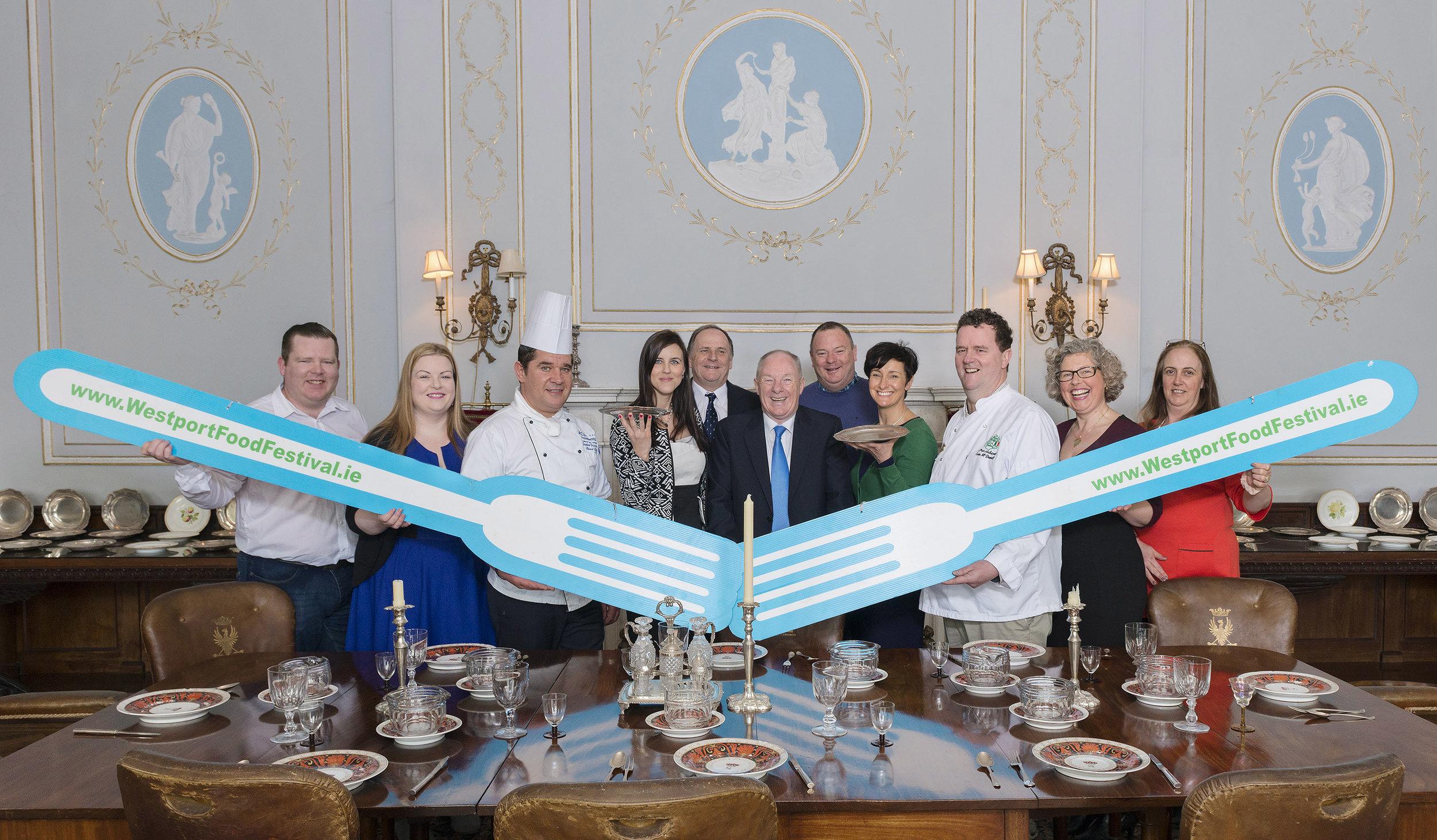 Westport Food Festival launch - the committee.jpg
