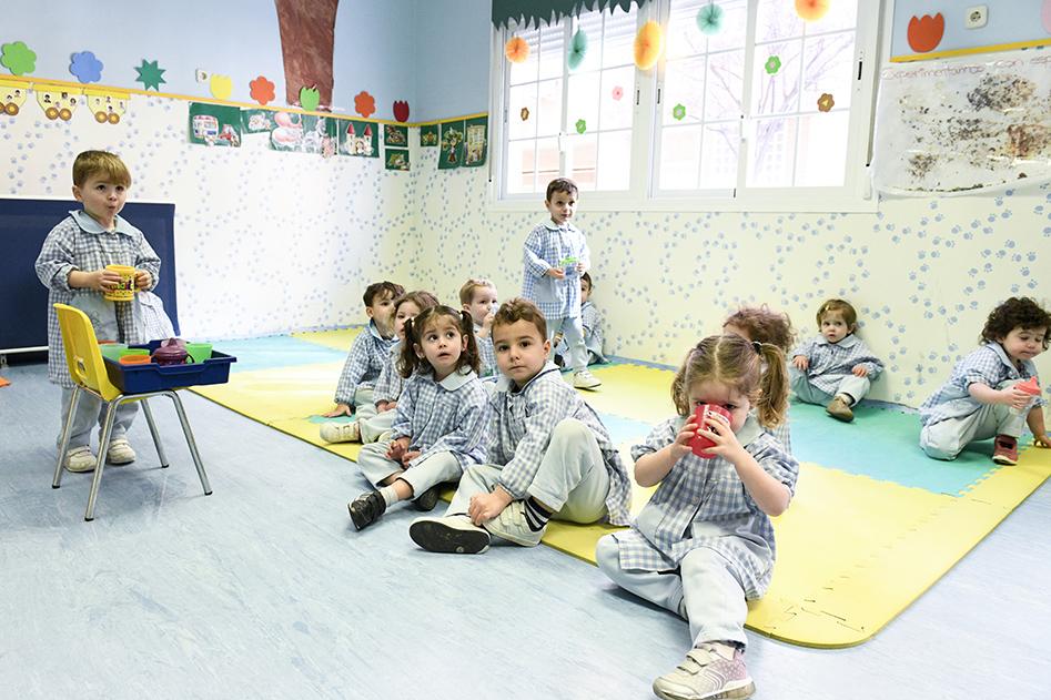 Salones escuela infantil las tablas