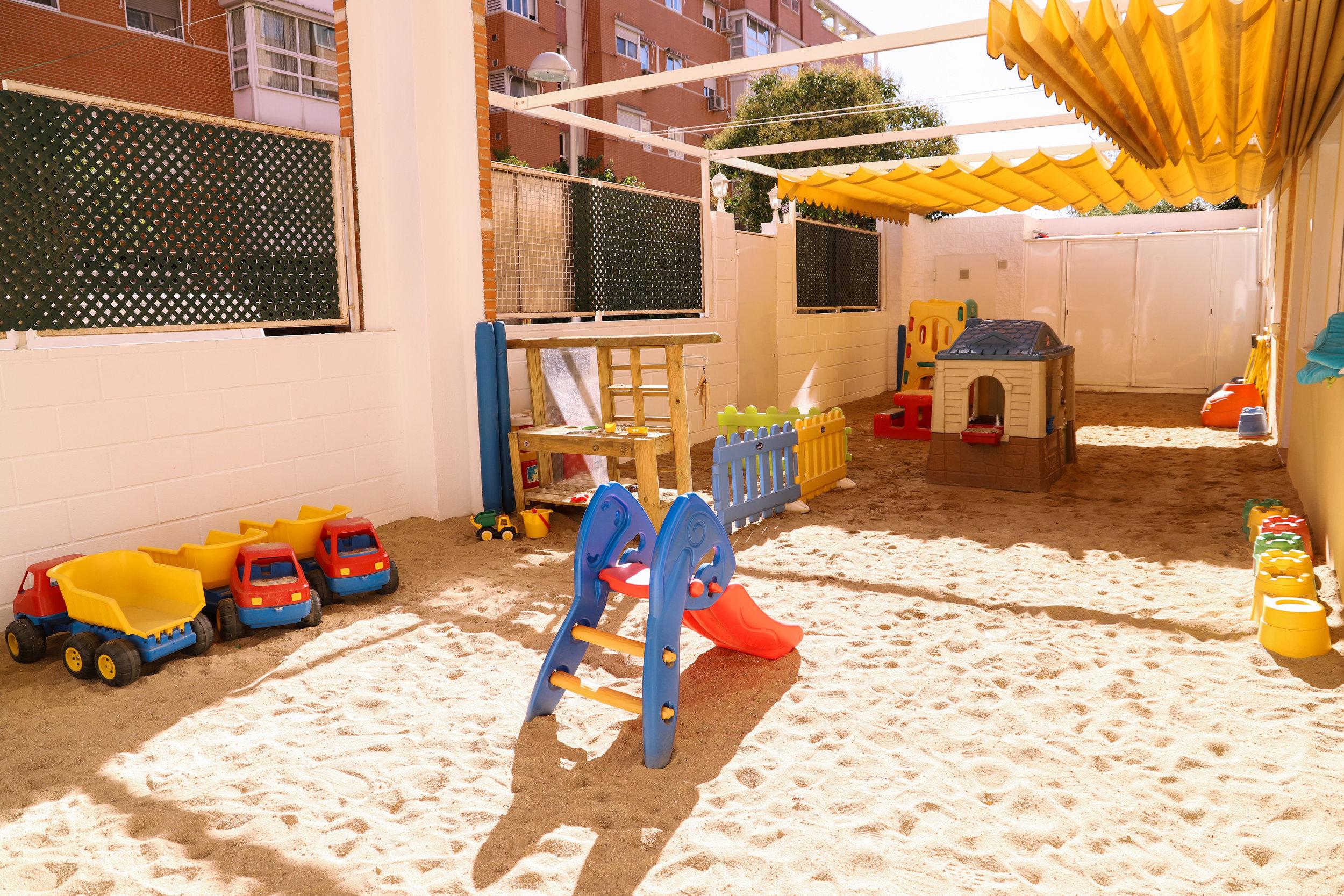 Patio Escuela infantil las tablas