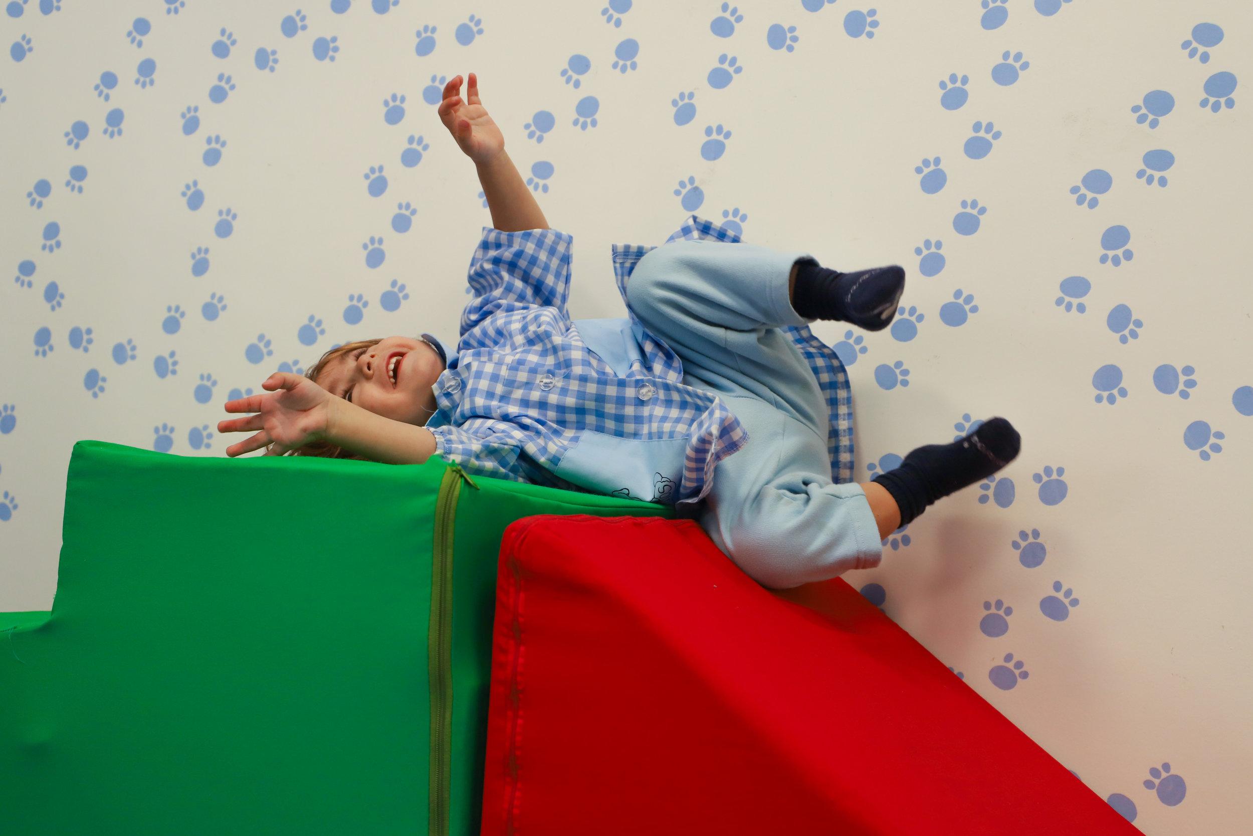 Psicomotricidad infantil en guardería Madrid