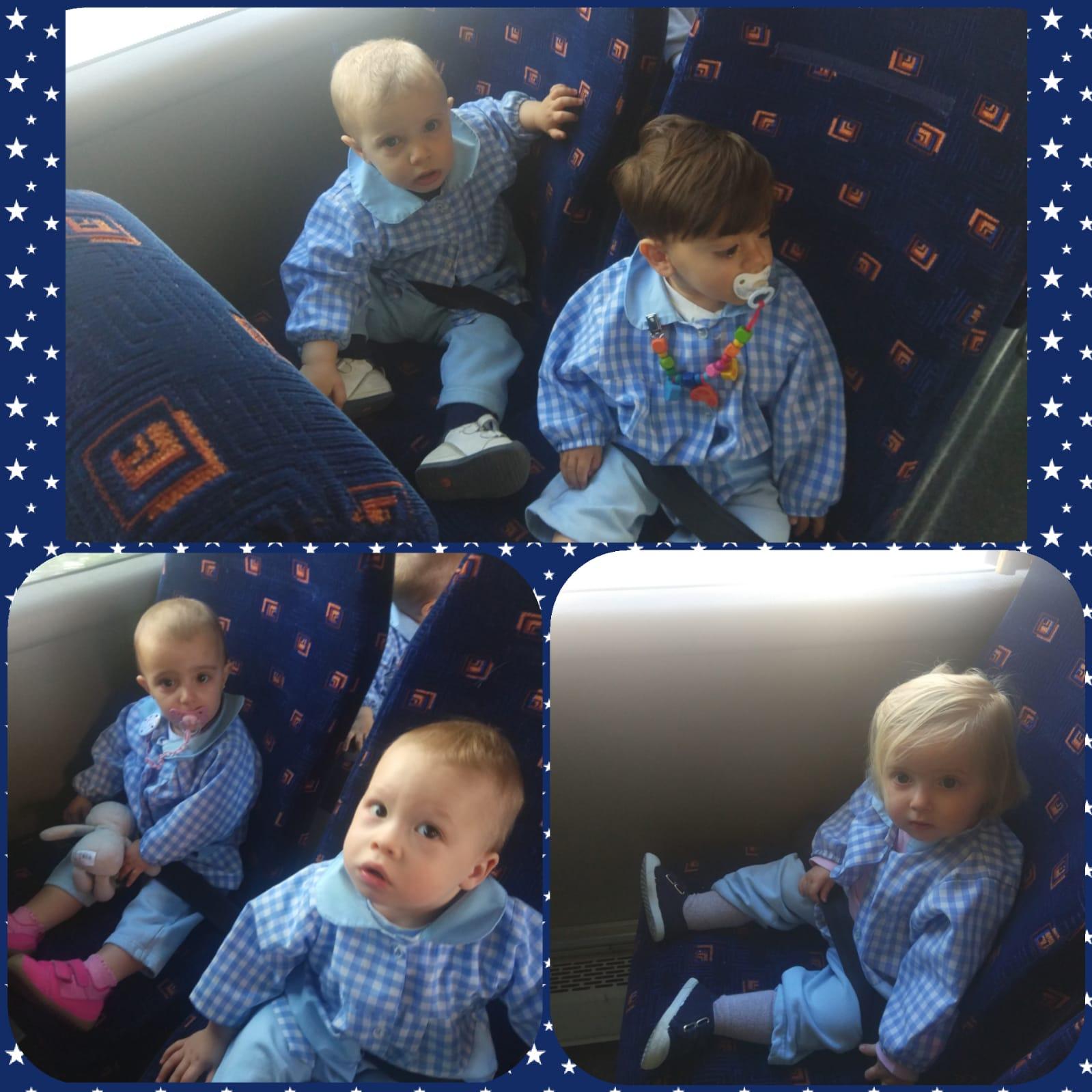 De vuelta en el bus