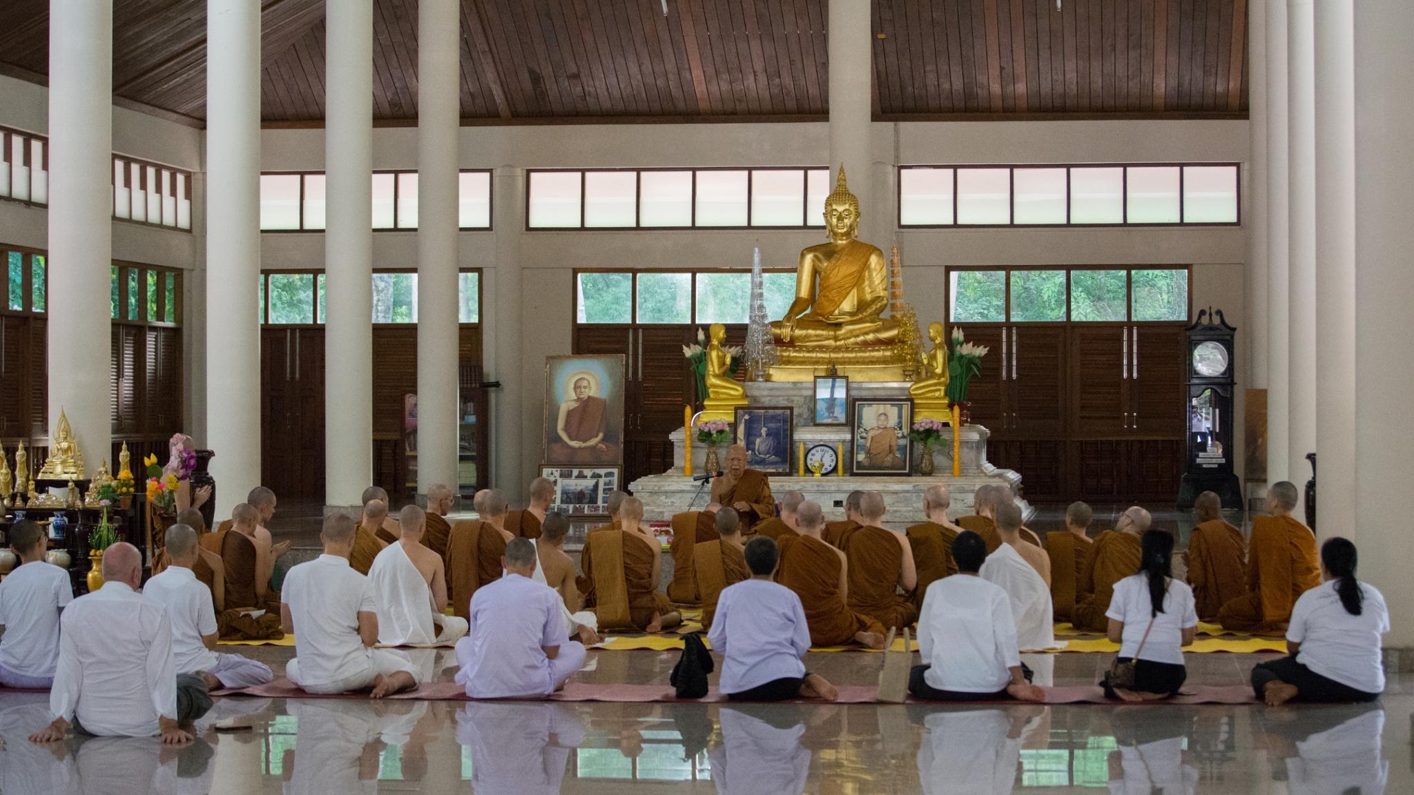 at Wat Pah Nohn Savann (Luang Por Nuh Daeng)