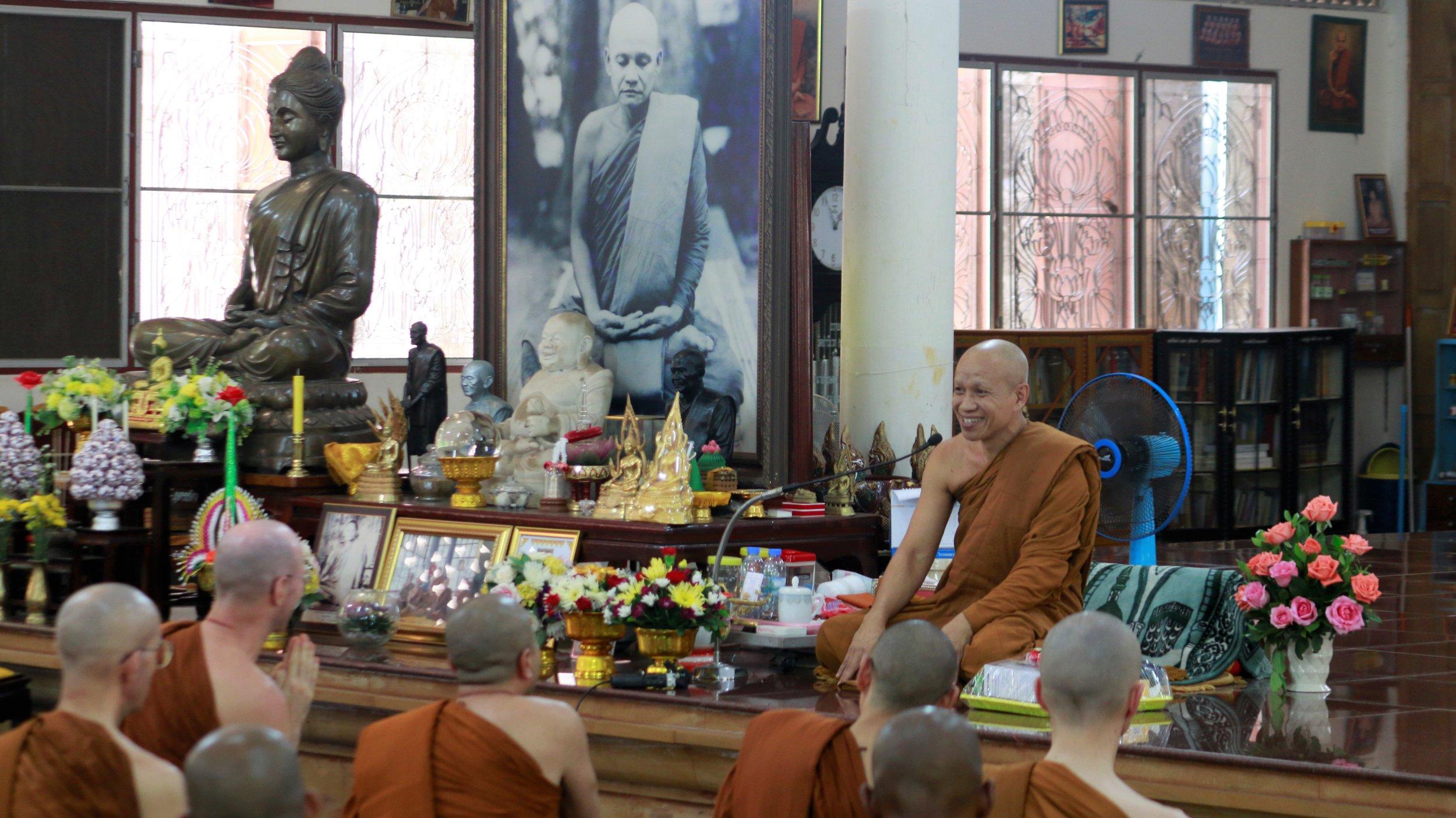 Wat Pah Vivek (Phrakruh Bhodiwannanurak)