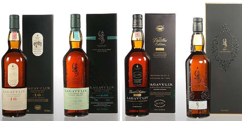 Peated_Whisky_lagavulin-range-bottles-the-three-drinkers.jpg