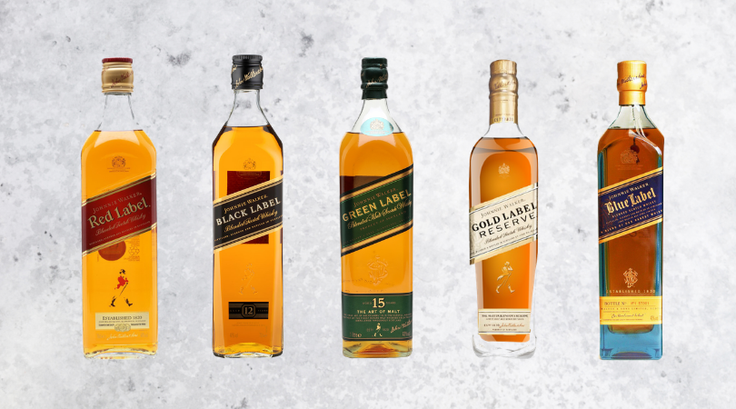 The Colours Of Johnnie Walker The Three Drinkers