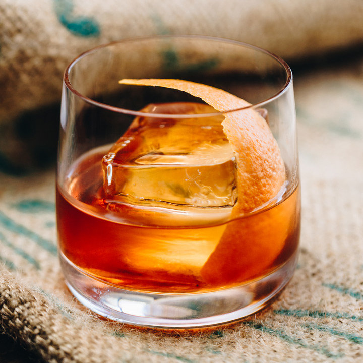 The 'Mac-Hattan' - Recipe25ml The Macallan 12 Year Old Double Cask Whisky25ml Orange liqueur25ml Red Vermouth3 Drops Chocolate bittersDried orange wheel to garnish