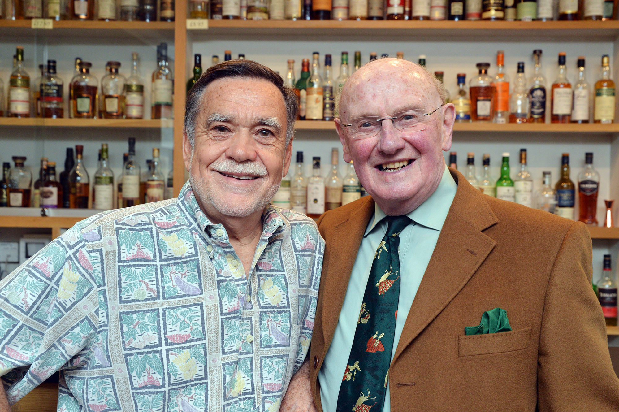 Don Sutcliffe and Willie Phillips