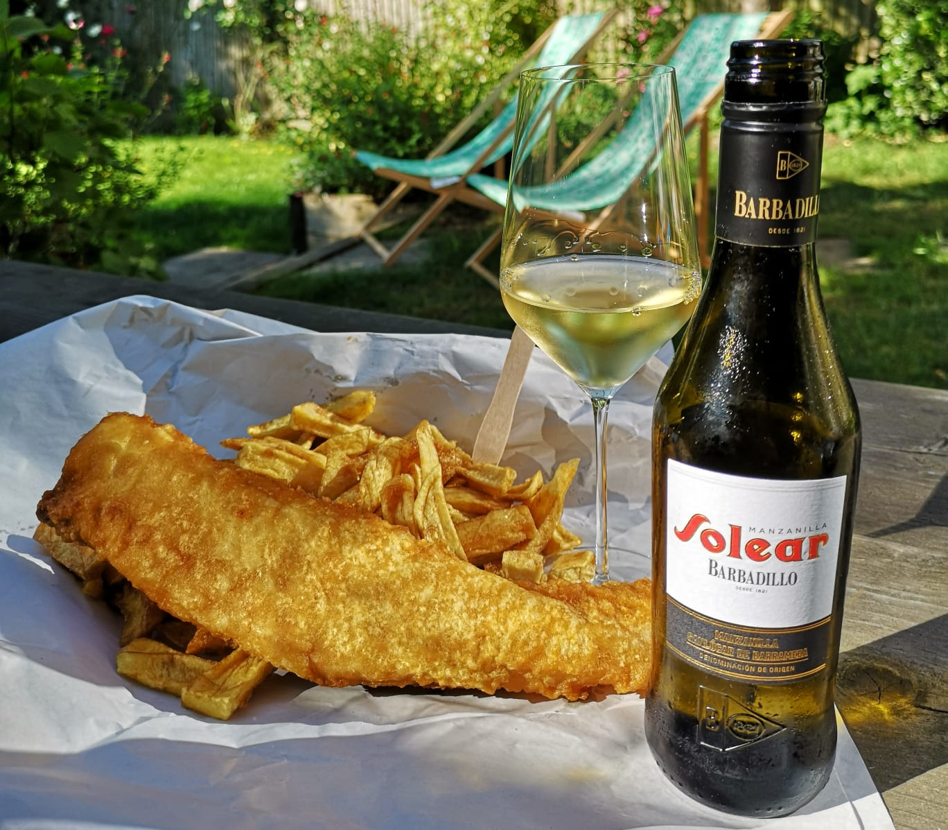 Manzanilla with fish and chips.jpeg