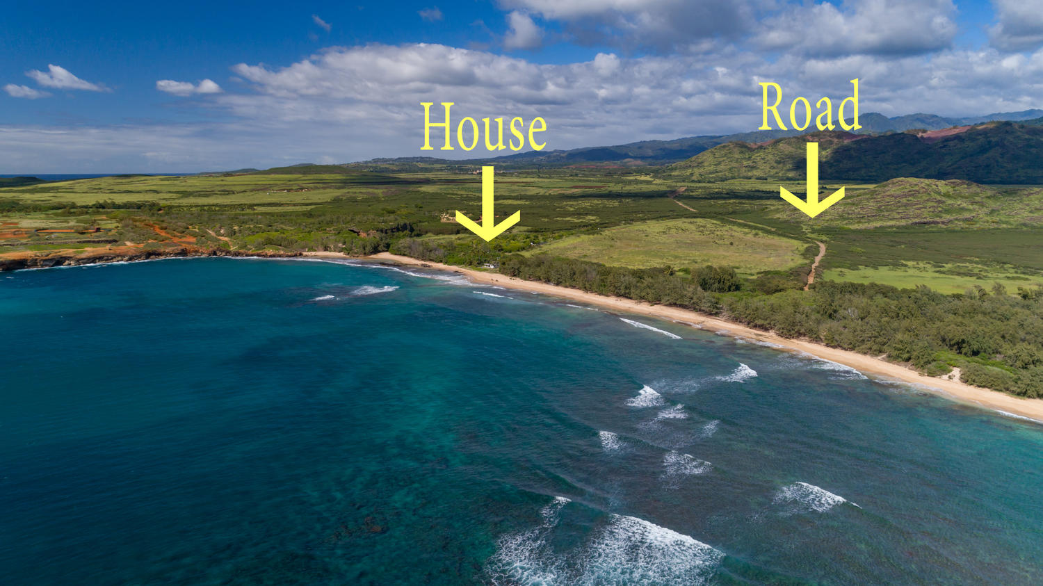 - FUN FACT: The Gillin Beach House is the ONLY home in the entire Maha'ulepu Valley.