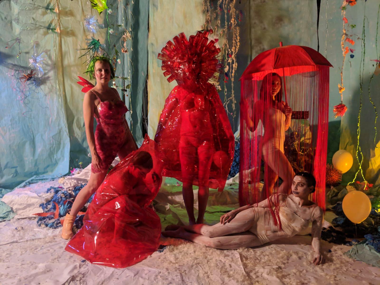 Acud Macht Neu Livia Rita gang of witches berlin Aya Nakagawa Eli Cohen Josephine Auffray Ali Heffetz Siobhan'ocallaghan set