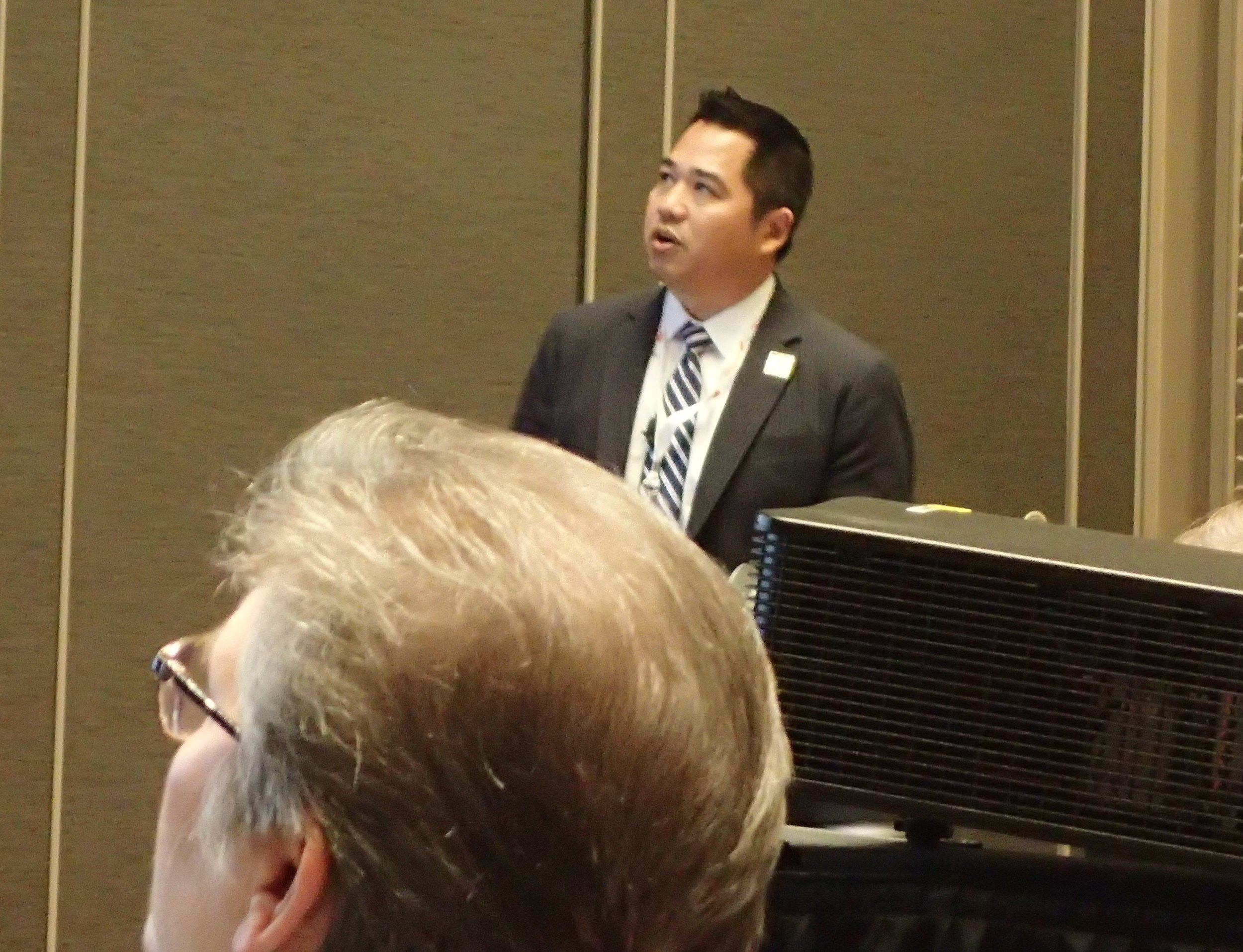 Robert Lam speaks on Second Victim Syndrome at AAEM Scientific Assembly 2018.