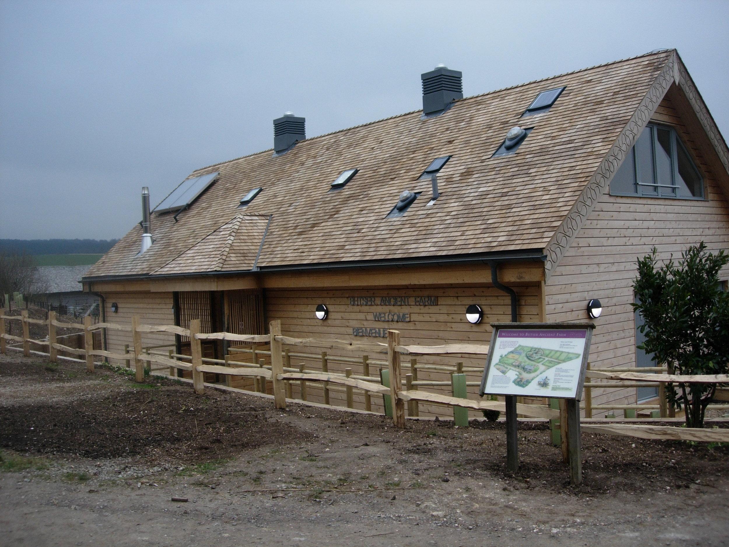 Butser Ancient Farm, Charlton