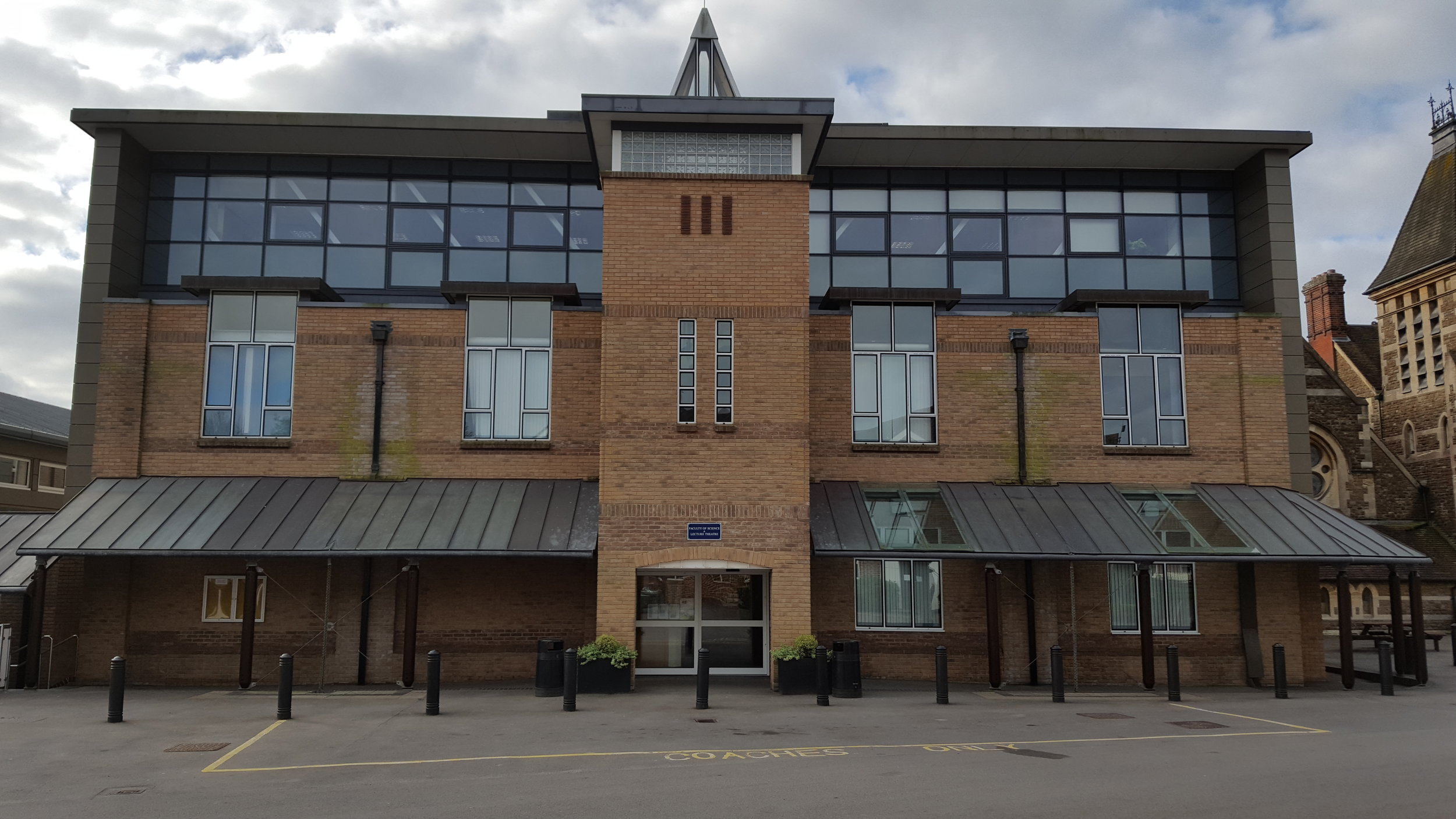 Churchers College Science Building -