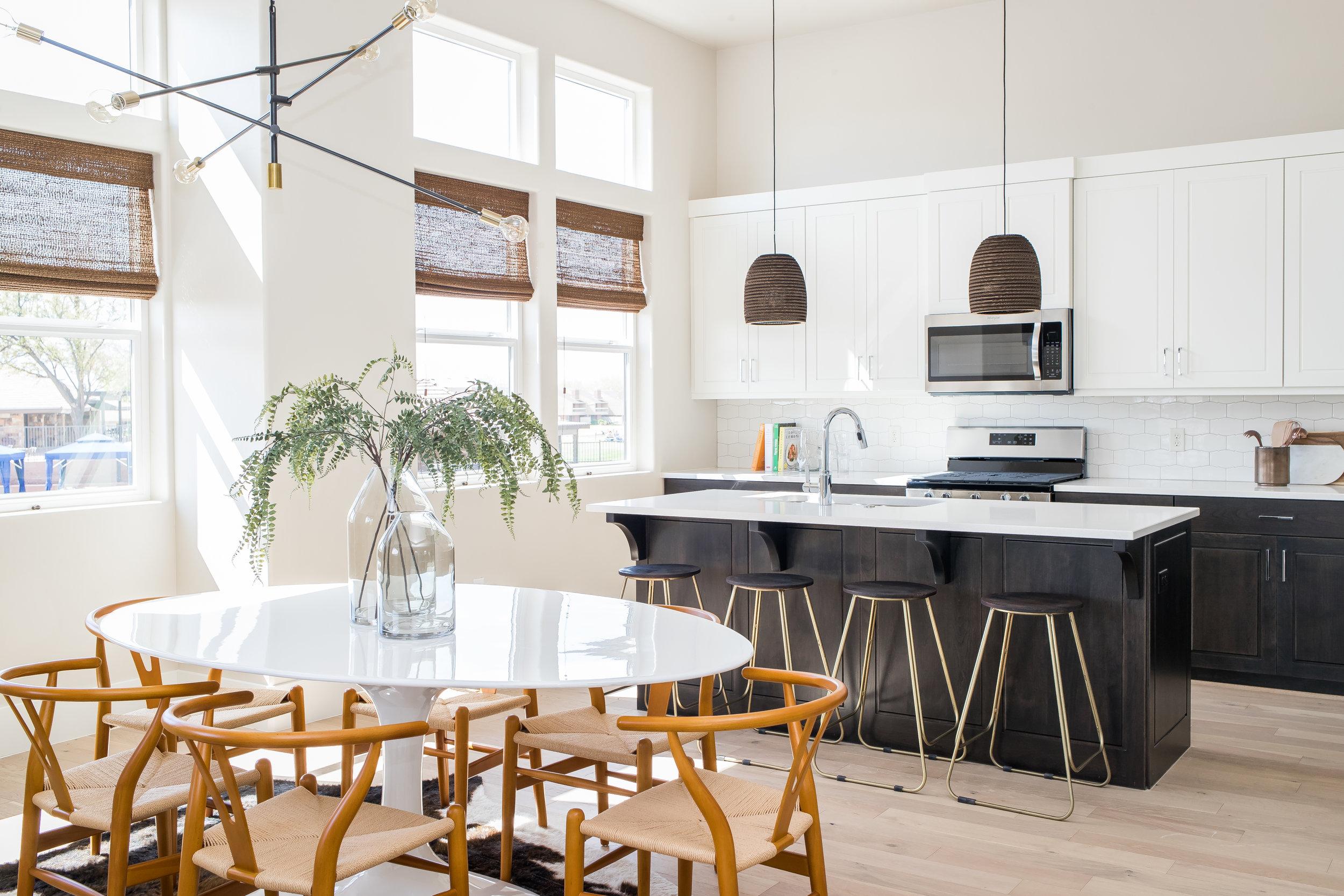 Upper Level - Dining/Kitchen