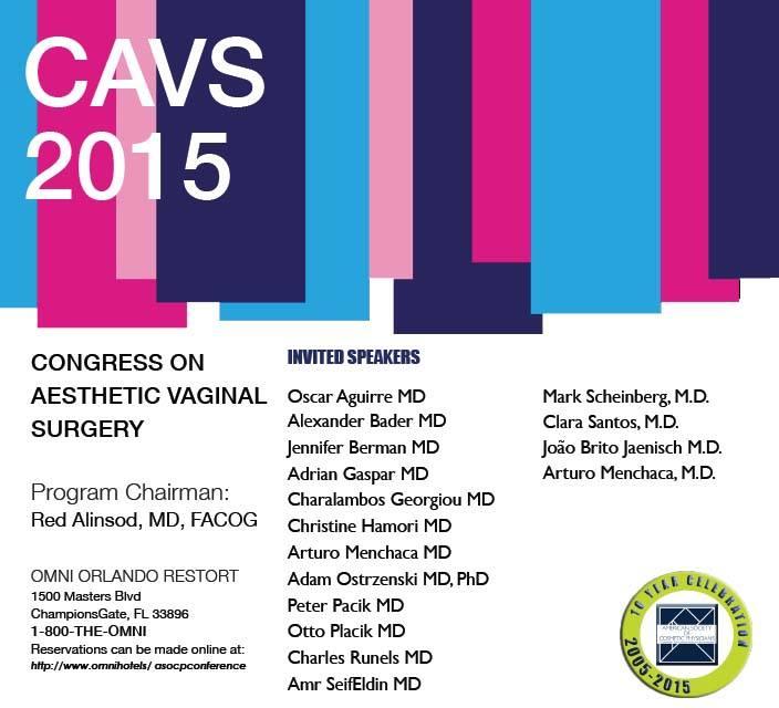 Congresso Mundial de Cirurgia Estética Ginecológica 2015