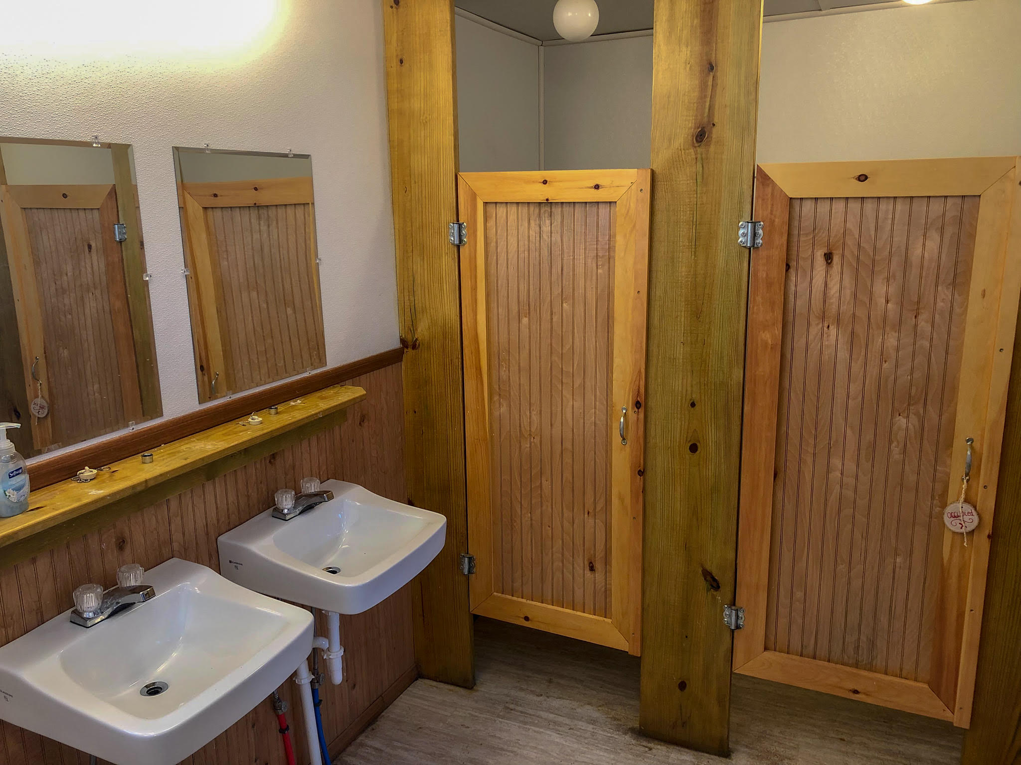 cabin bathrooms