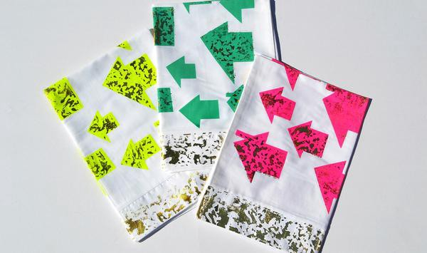 Tiny House Pillowcases from the #DREAMONIT campaign