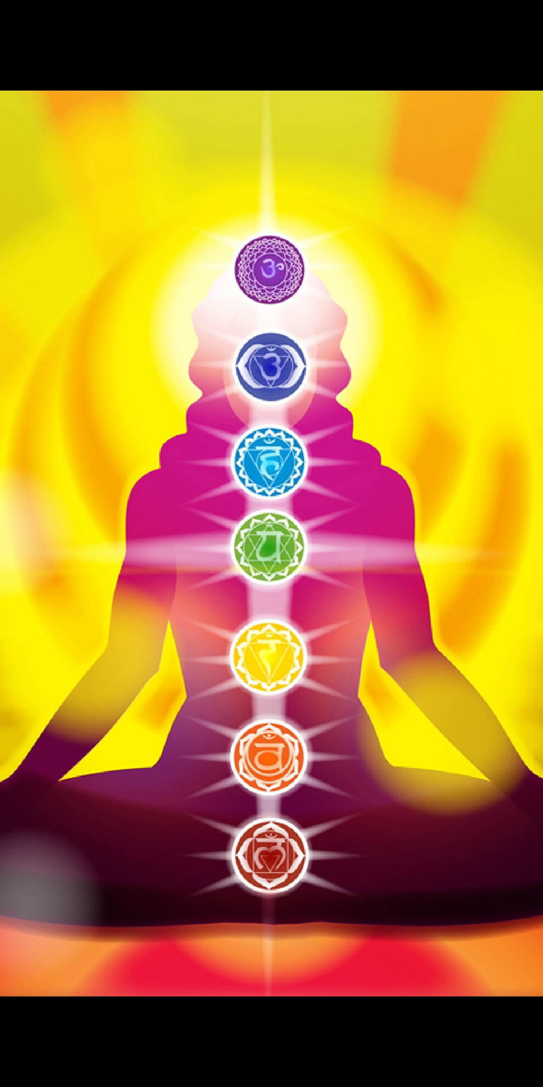 Healing with Sound - MantrasEach chakra has a sound which balances the energies. Just like in reiki, balancing the energies allow them to flow clearly around the body, and the body and emotions can then heal themselves and symptoms are reduced.I downloaded an app to listen to and help focus my thoughts when sending distance reiki. But when I tried it to see what the sound was like, I noticed my own dog, was yawning away, and releasing due to the sound having a positive effect on her.The app is simply called Mantras for the Chakras, and will play the mantra / sound when you select the chakra you want to balance. I have had this app for a while so there may be better ones, but this is a free app, and I like that it will keep playing after the screen saver times out on my phone.HertzThis isn't related to chakras, but the body in general. It is a recommendation I heard on an app recently, so haven't experimented with it much. It is also on YouTube, so not something you can put on to have playing all night, as when the screen on your phone etc times out, it stops YouTube playing.Different frequencies of sound have different properties.432 Hz is a relaxing frequency which can help with sleep528 Hz can heal the whole body, even repairing DNAThere are many other frequencies. I have mainly listened to 528 Hz, and found it a lovely relaxing sound.