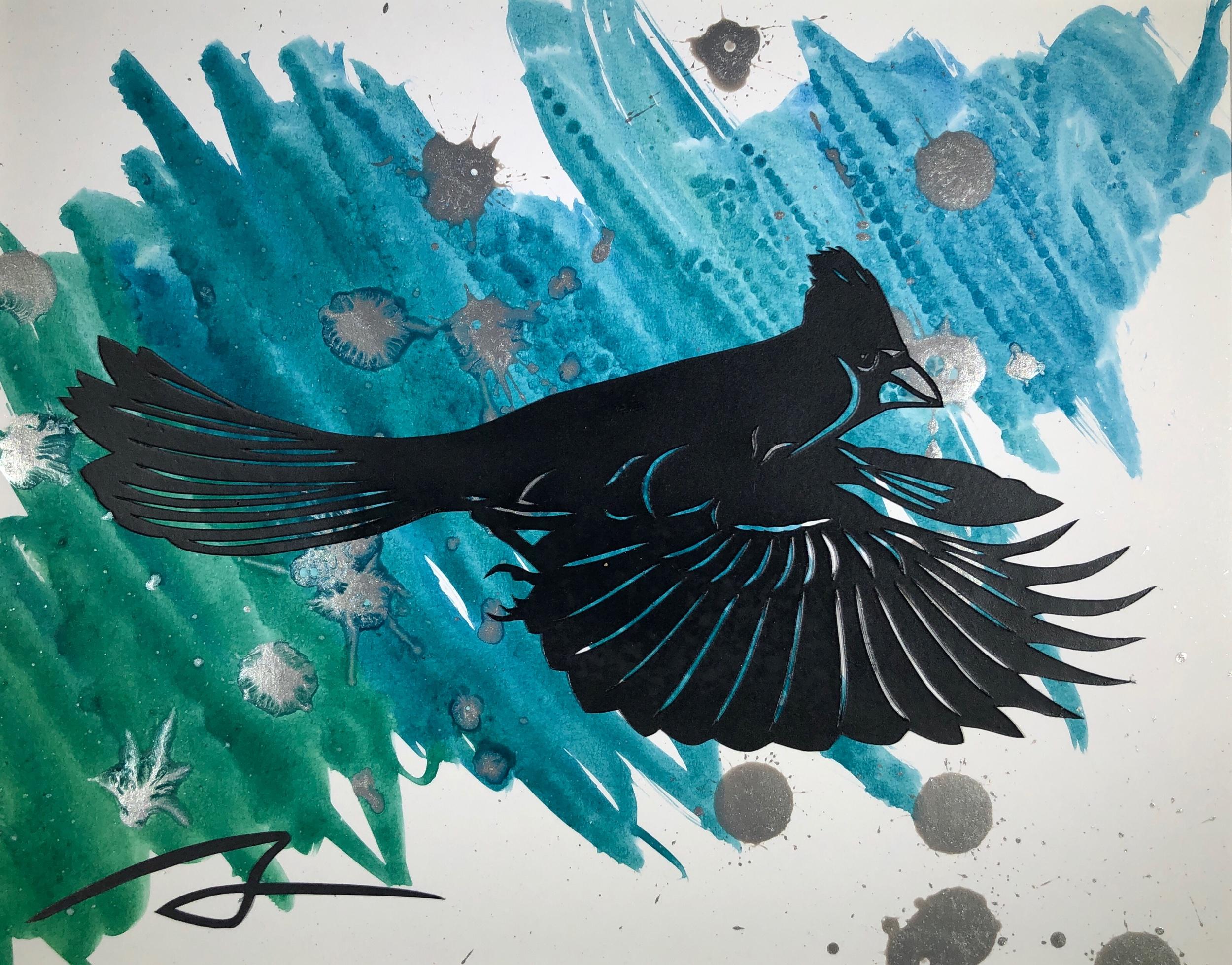 Cardinal (Black, Silver, Teal)