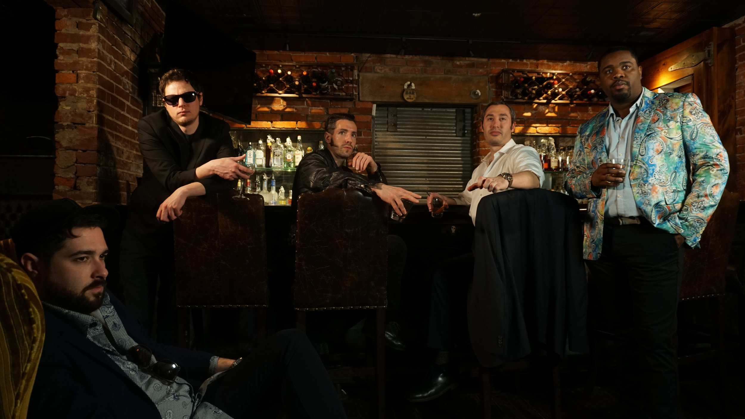 - Rob Peace - lead vocalsJackie Ooze - rhythmic guitarChristian Gunn - lead guitarBrandy Porter - bassSticky Vinny - drums