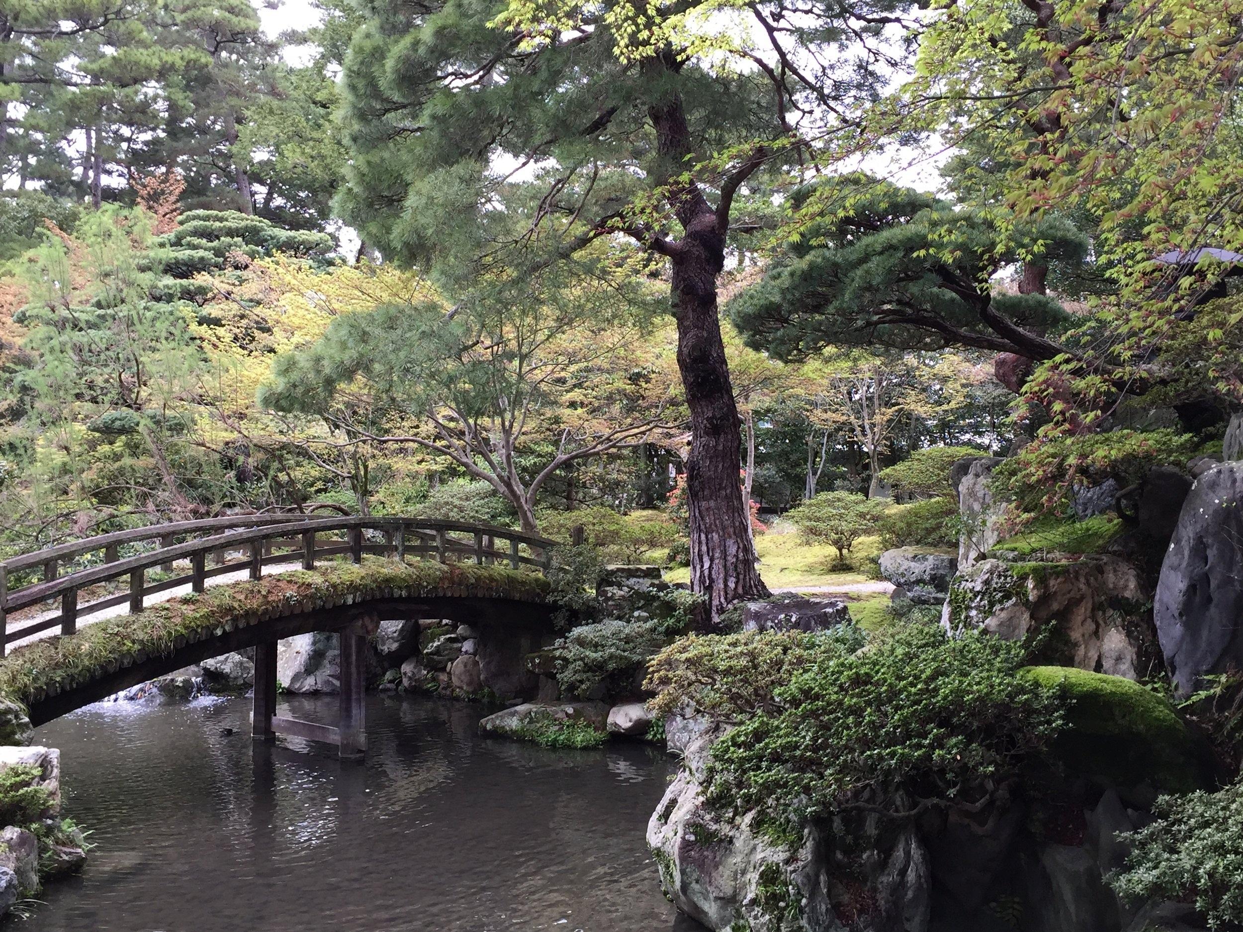 Kyoto Imperial Palace Gardens, Kyoto, Japan