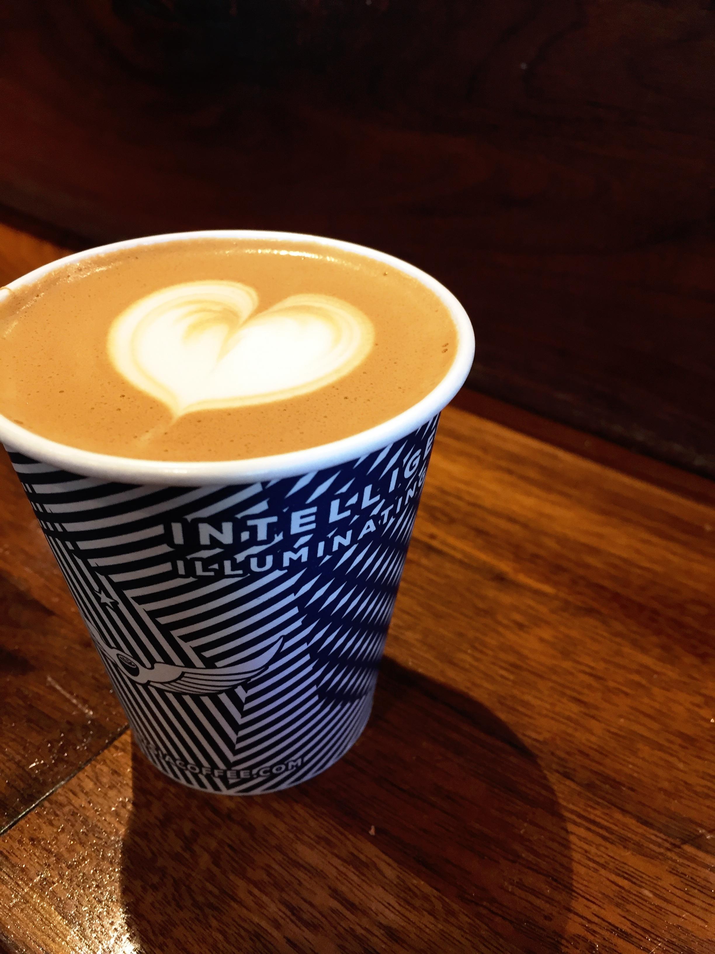 Cappuccino from Intelligentsia Coffee, Chicago