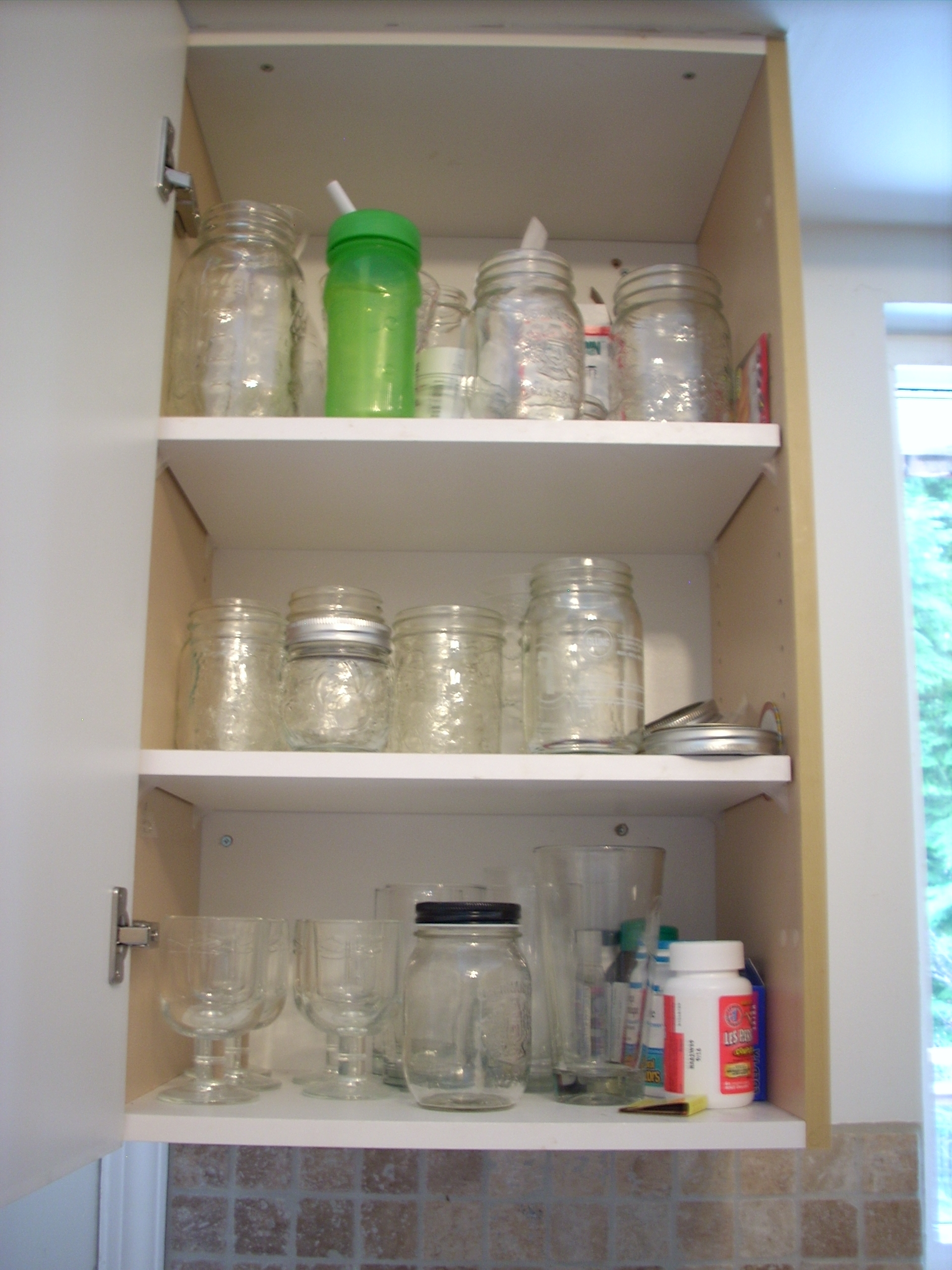Before-Kitchen cupboard