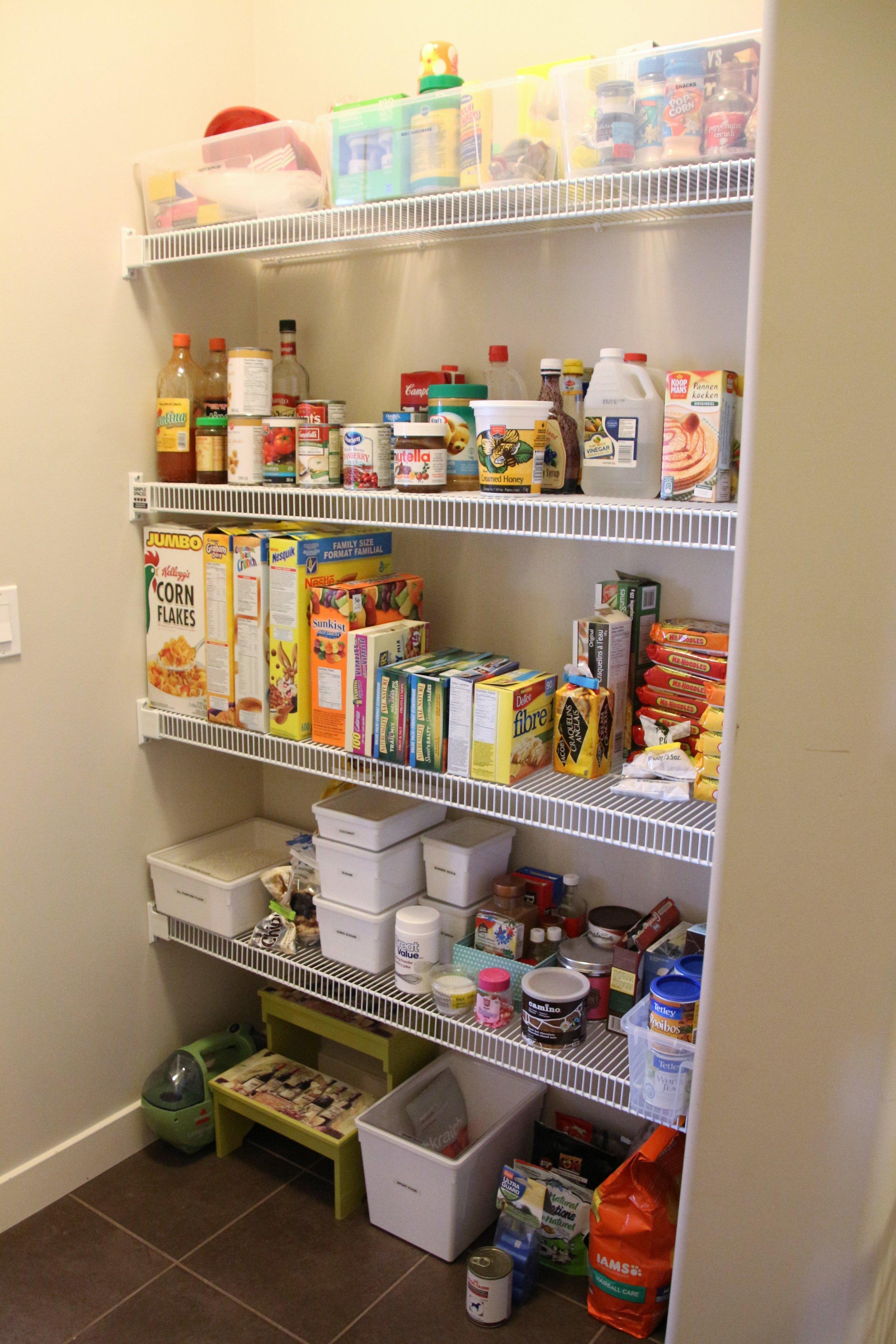 After-Walk through pantry