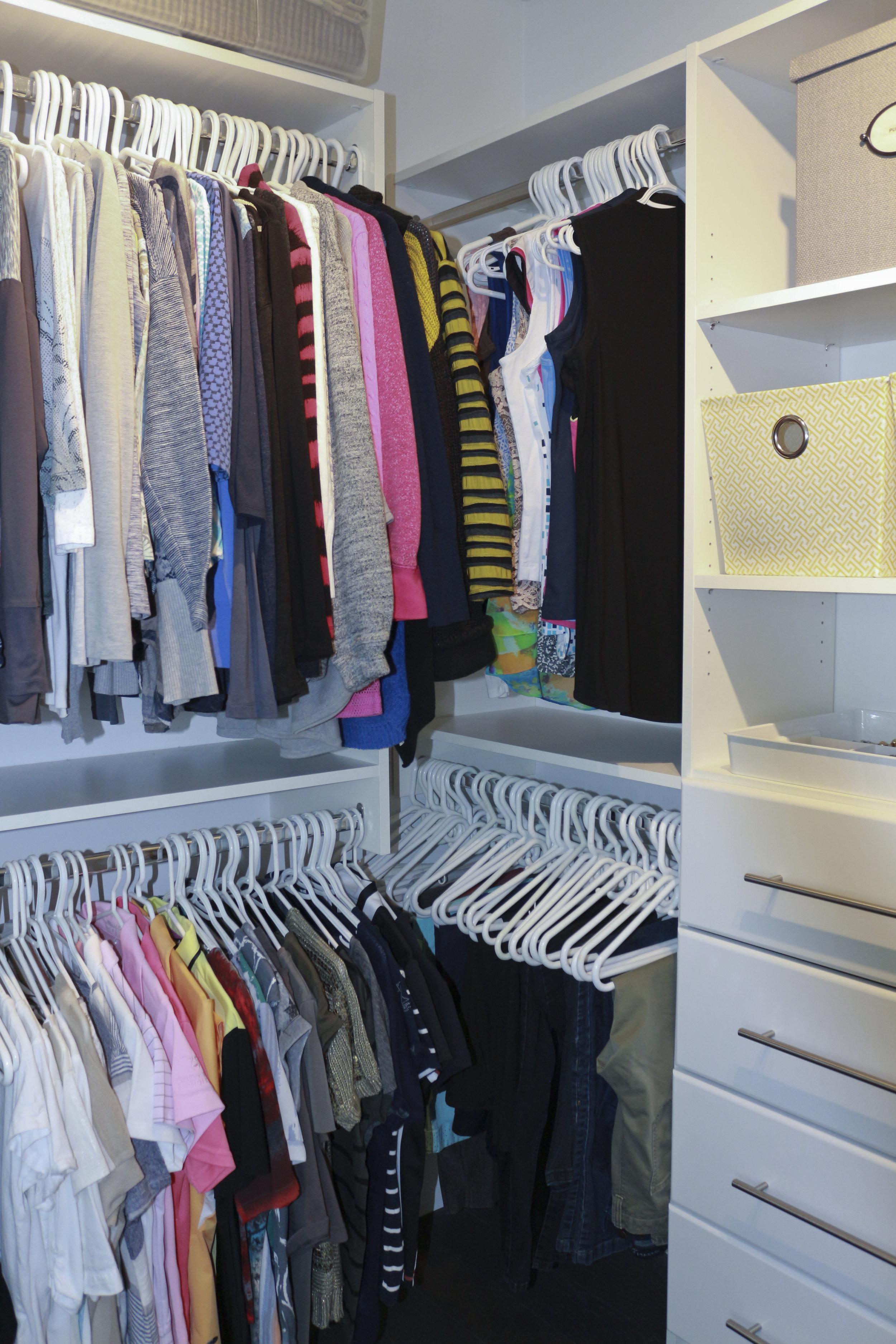 After-Master closet