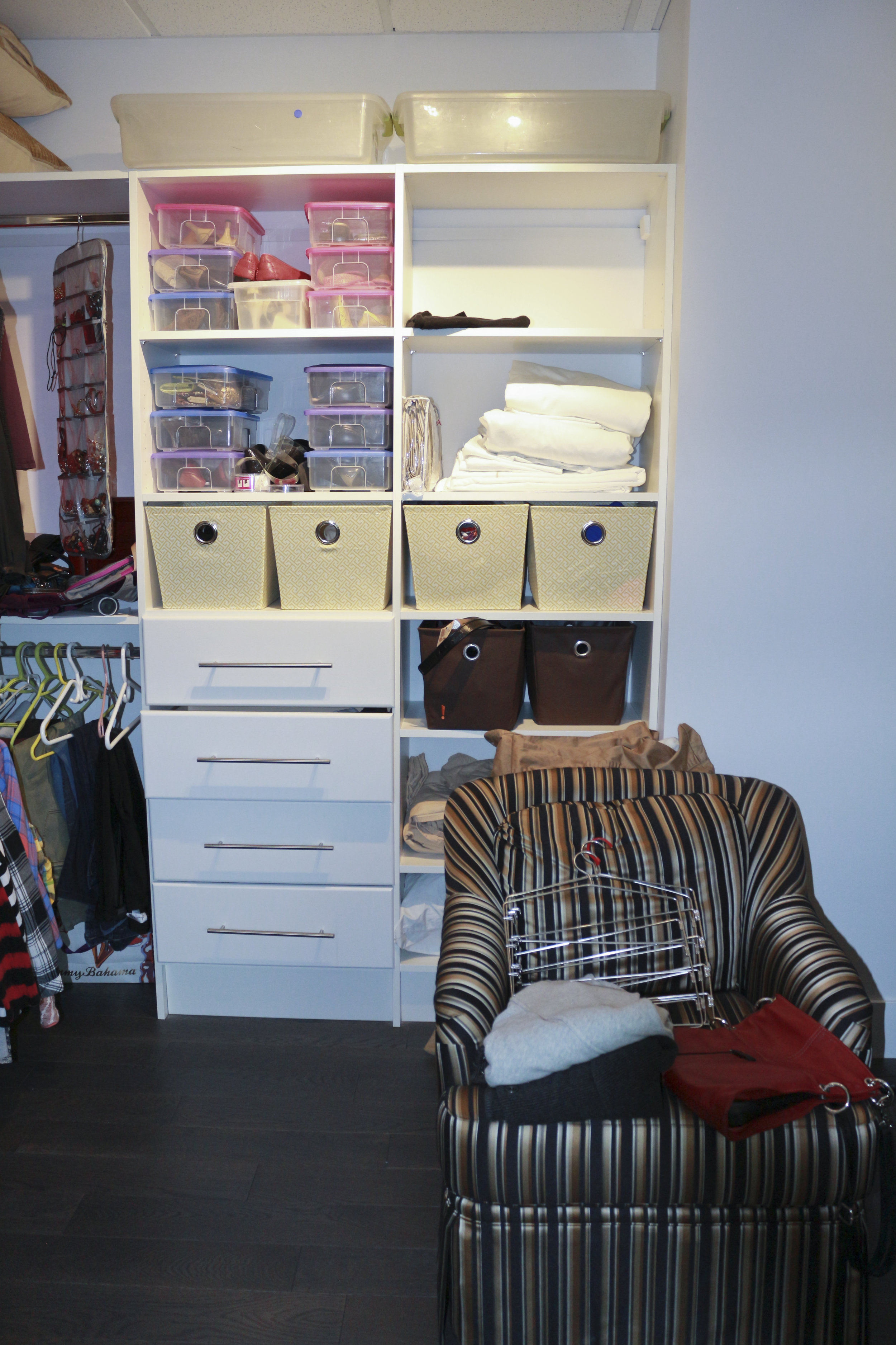 Before-Master closet