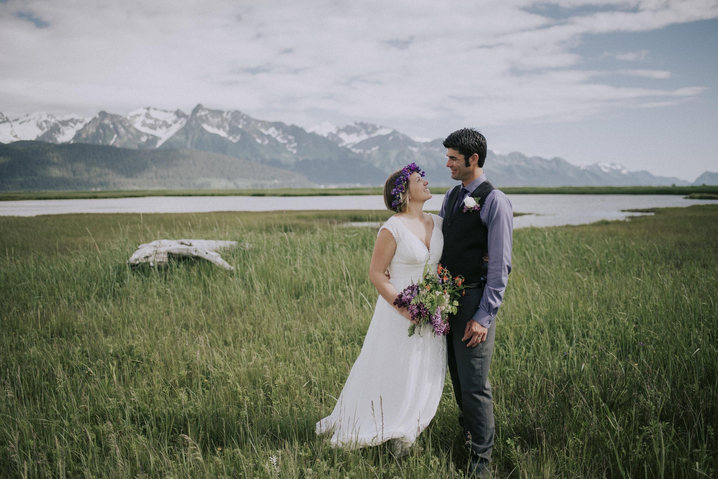 Wedding Photographer, Seward, Alaska