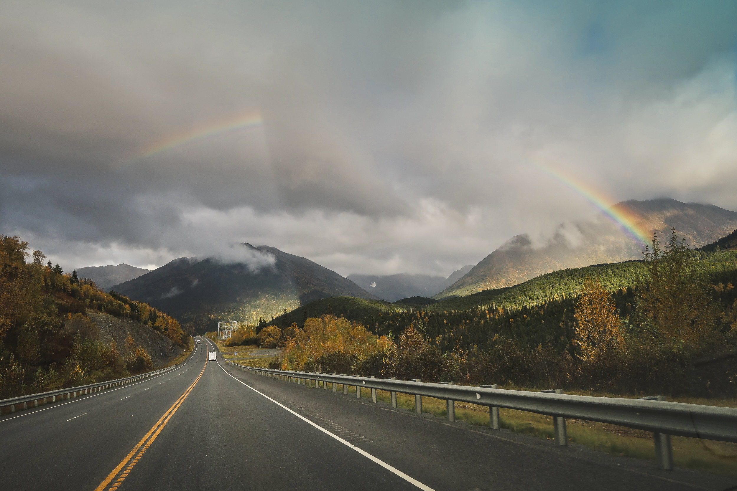 Rainbow- Seward Highway, Alaska