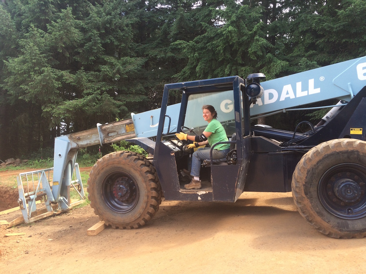 - I can drive a Gradall tractor-and am pretty good at it.