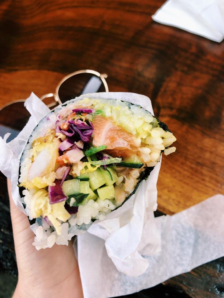 Sushi burritos I love you