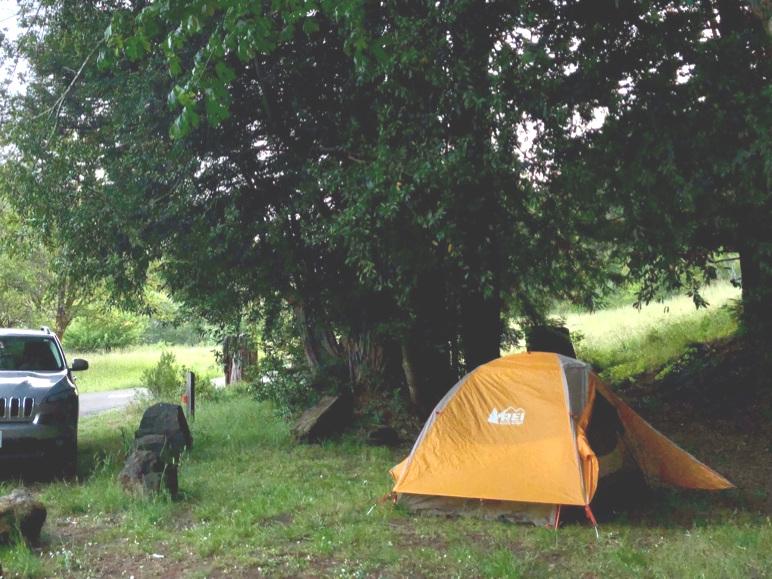 humble little campsite