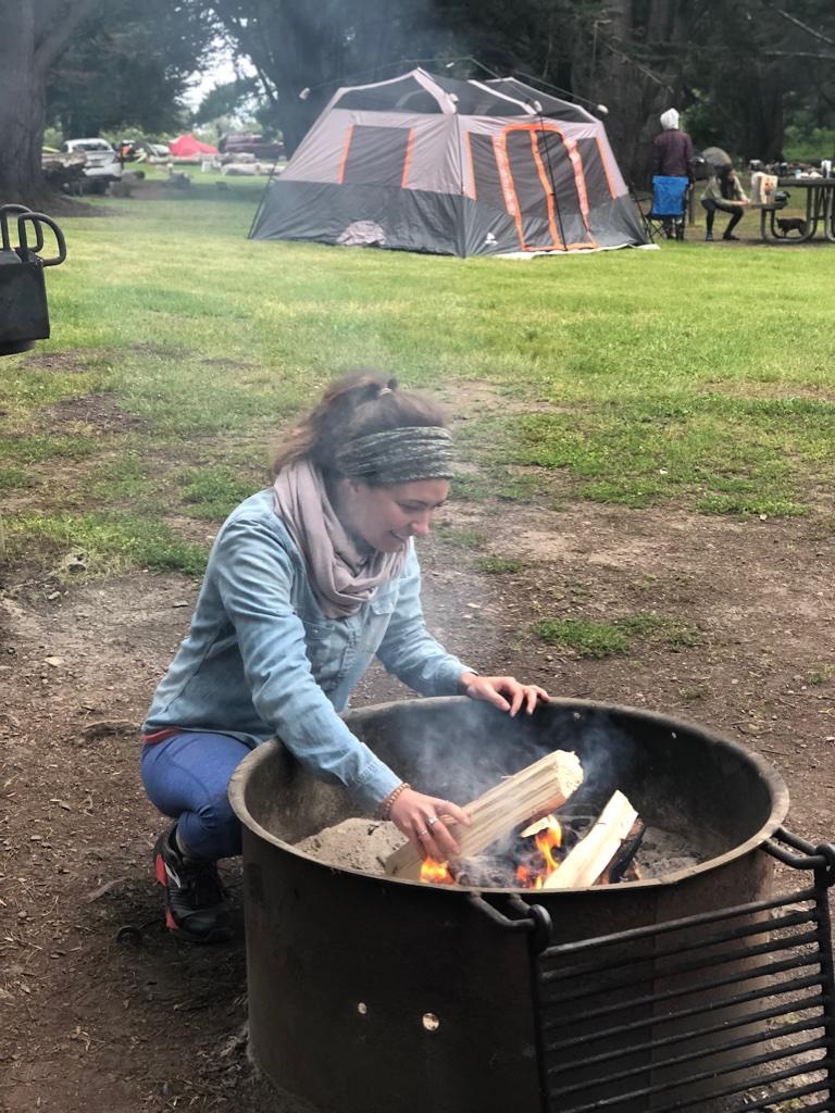 Expert campfiremaker
