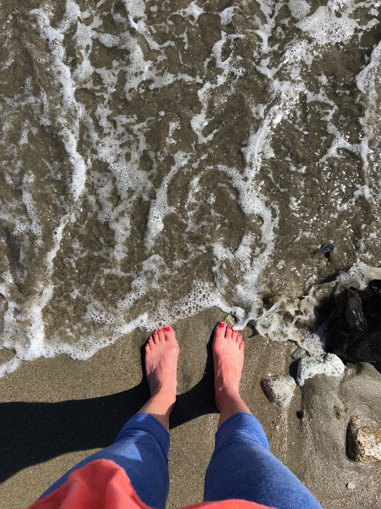 I now require every hike to end with my feet in the water, that is all