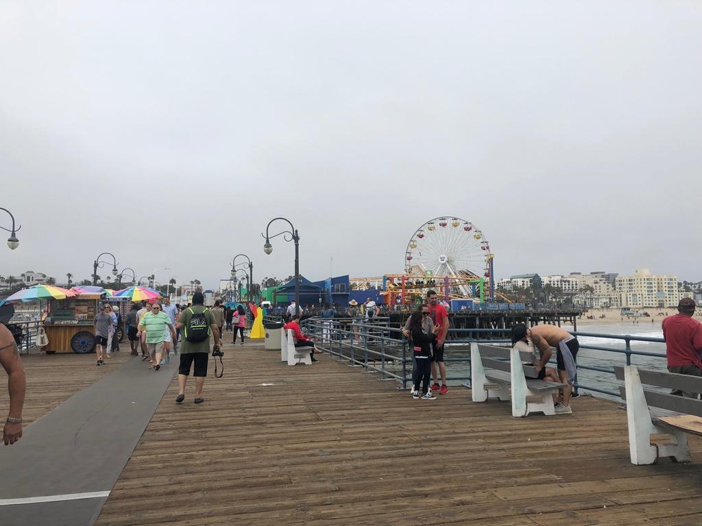 Santa Monica Pier hello